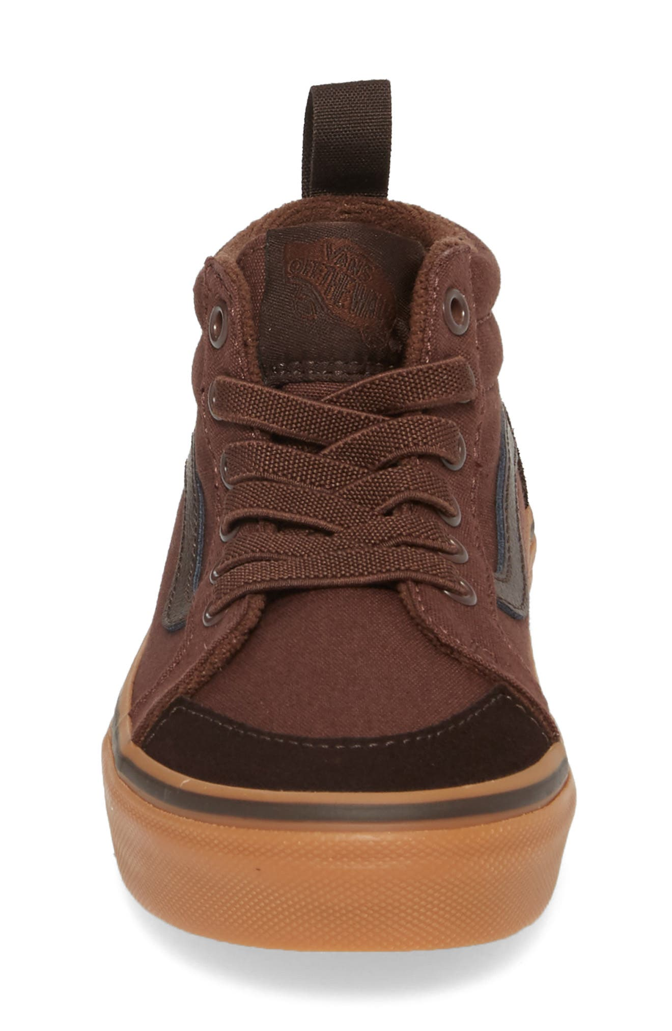 Racer Mid Elastic Lace Sneaker,                             Alternate thumbnail 24, color,