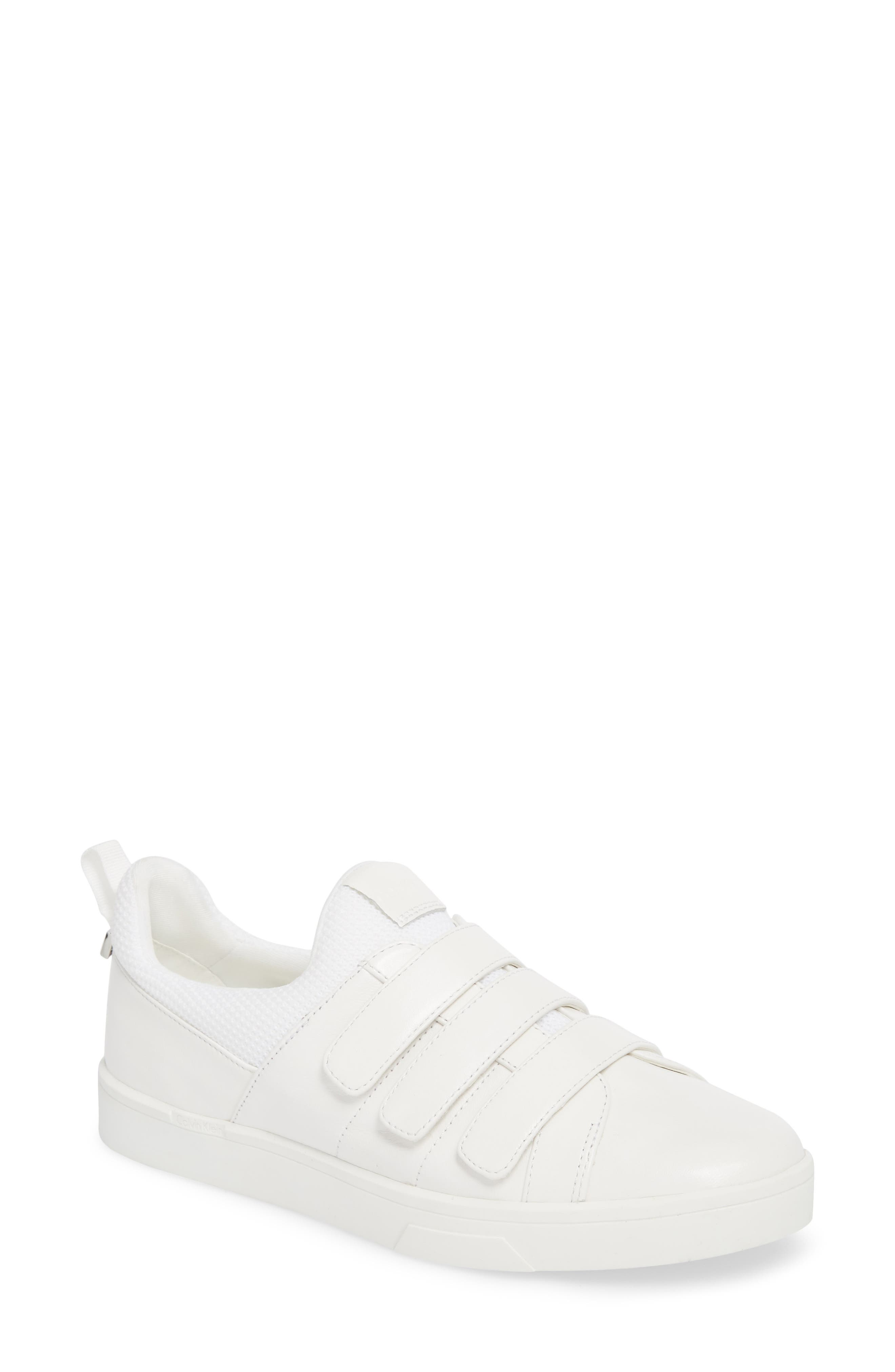 Irah Sneaker,                         Main,                         color, WHITE LEATHER