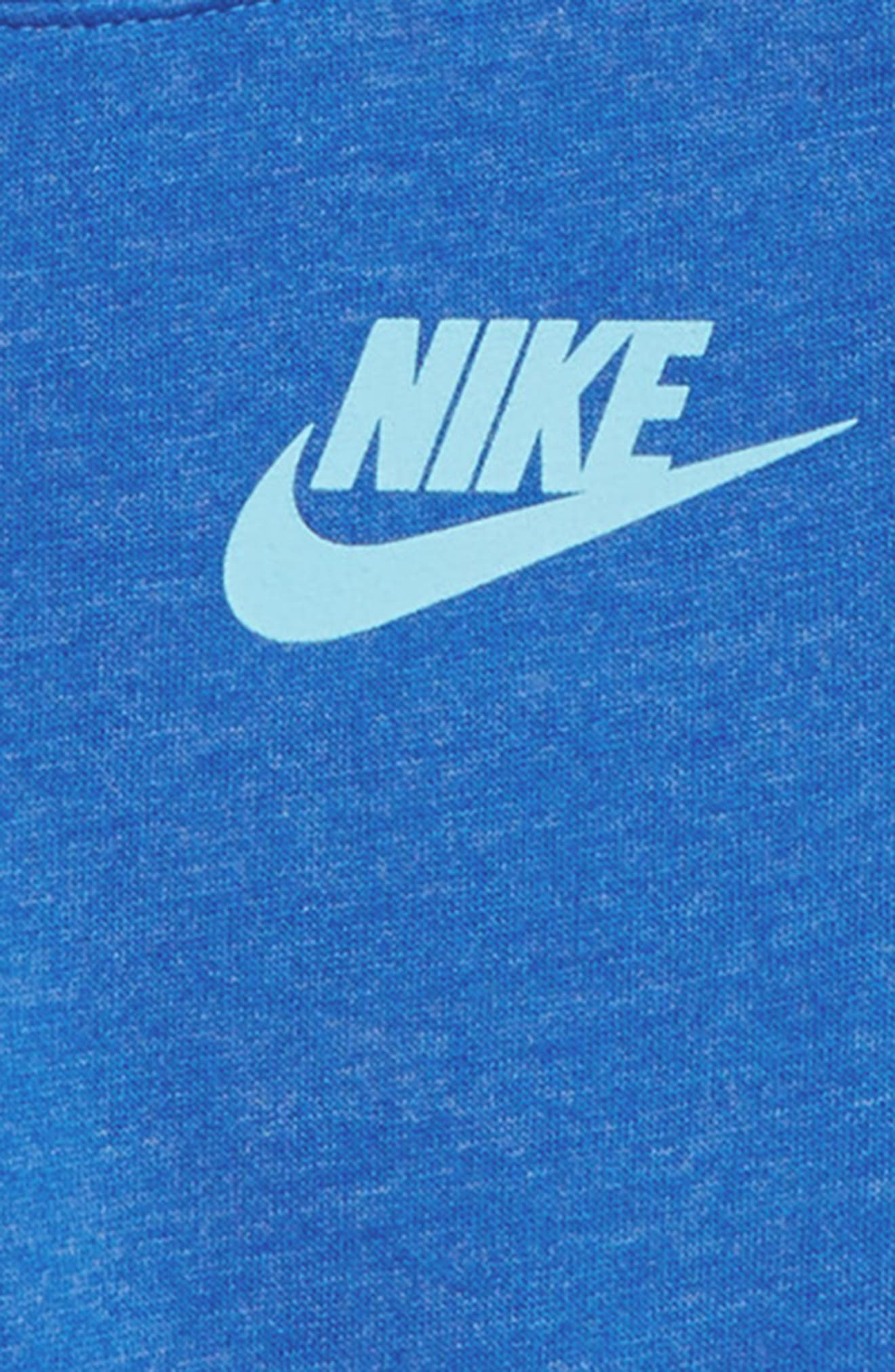 Sportswear Crewneck Pullover,                             Alternate thumbnail 2, color,                             SIGNAL BLUE/ HTR/ BLUE CHILL