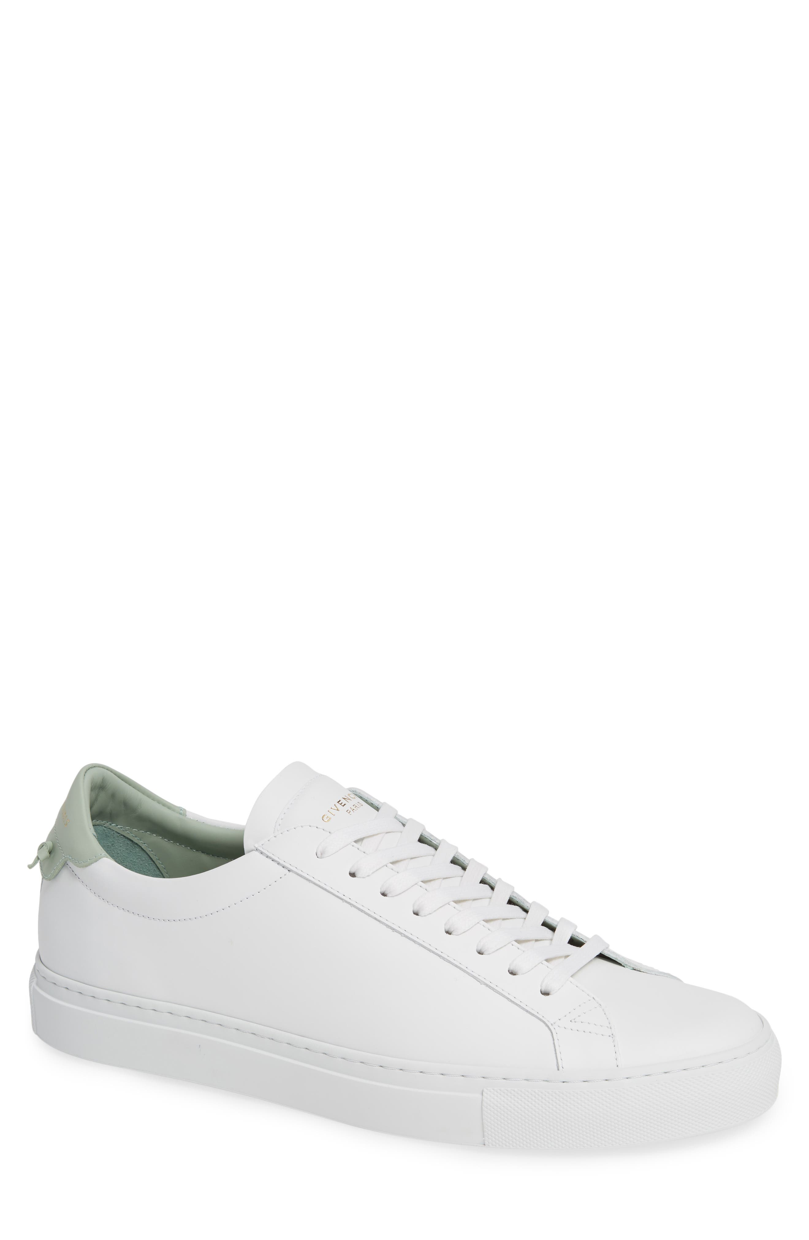 'Urban Knots Lo' Sneaker,                             Main thumbnail 1, color,                             WHITE/ GREEN