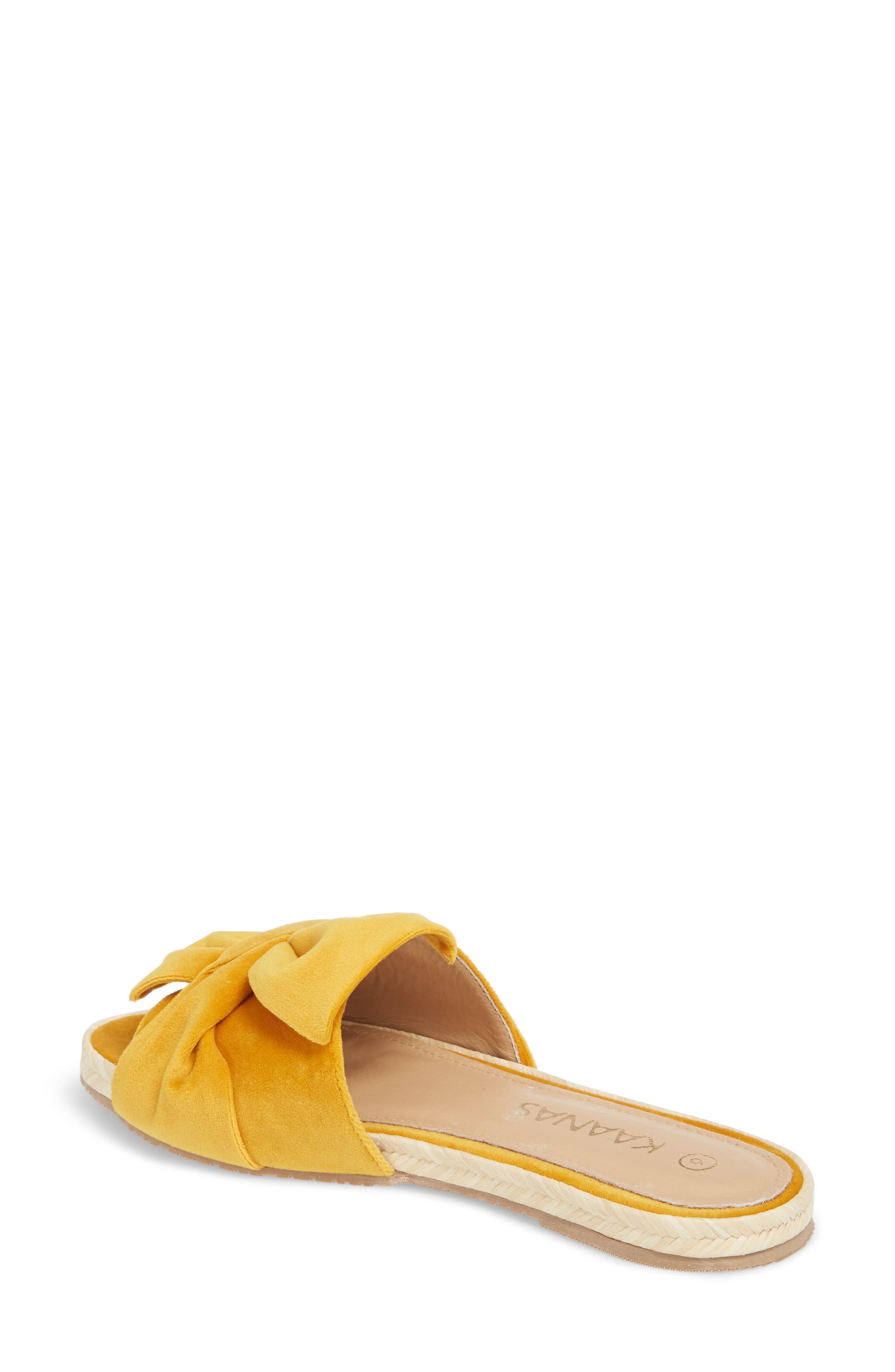 Sausalito Knotted Slide Sandal,                             Alternate thumbnail 4, color,