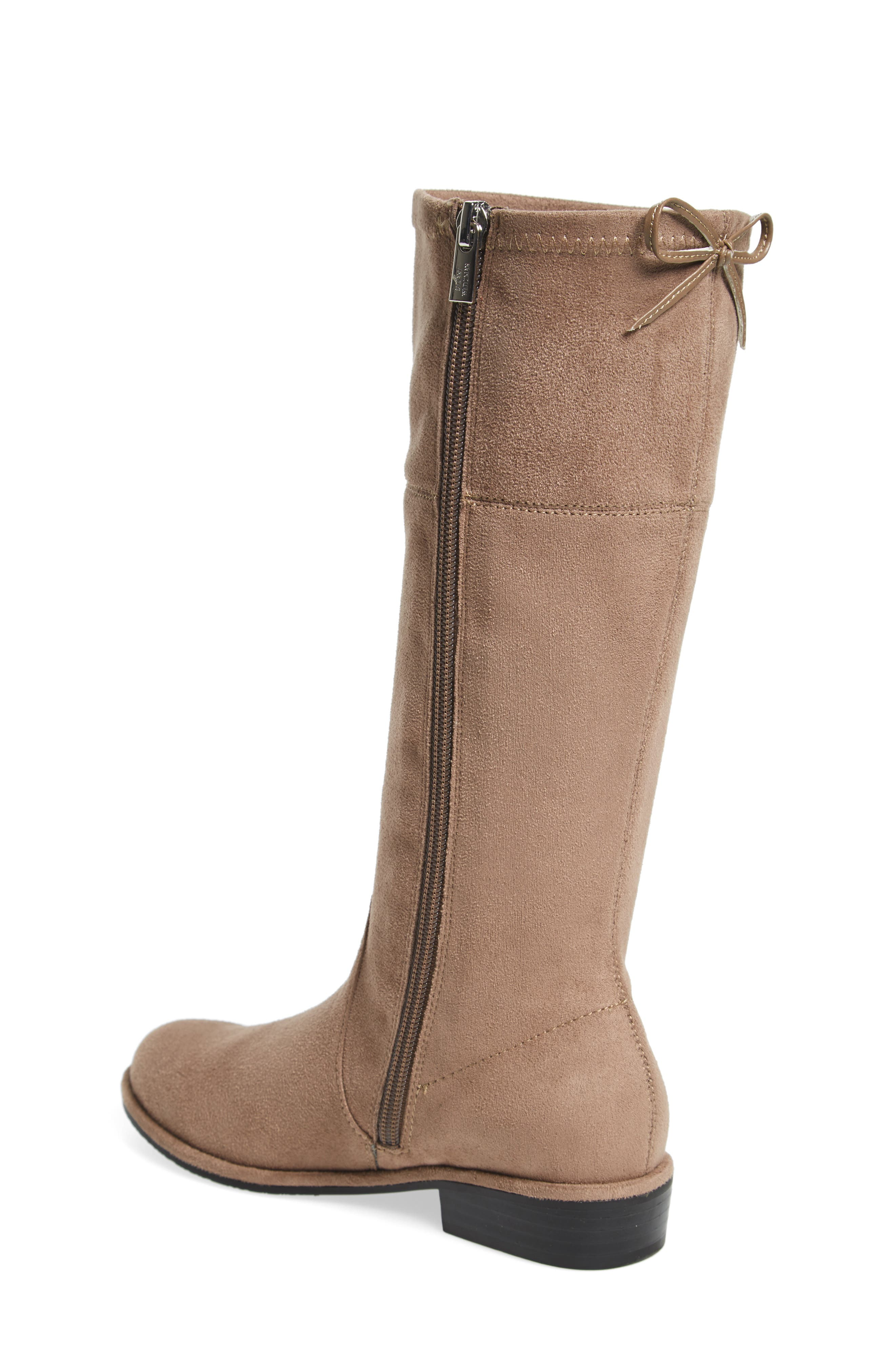 Lowland Bow Riding Boot,                             Alternate thumbnail 4, color,