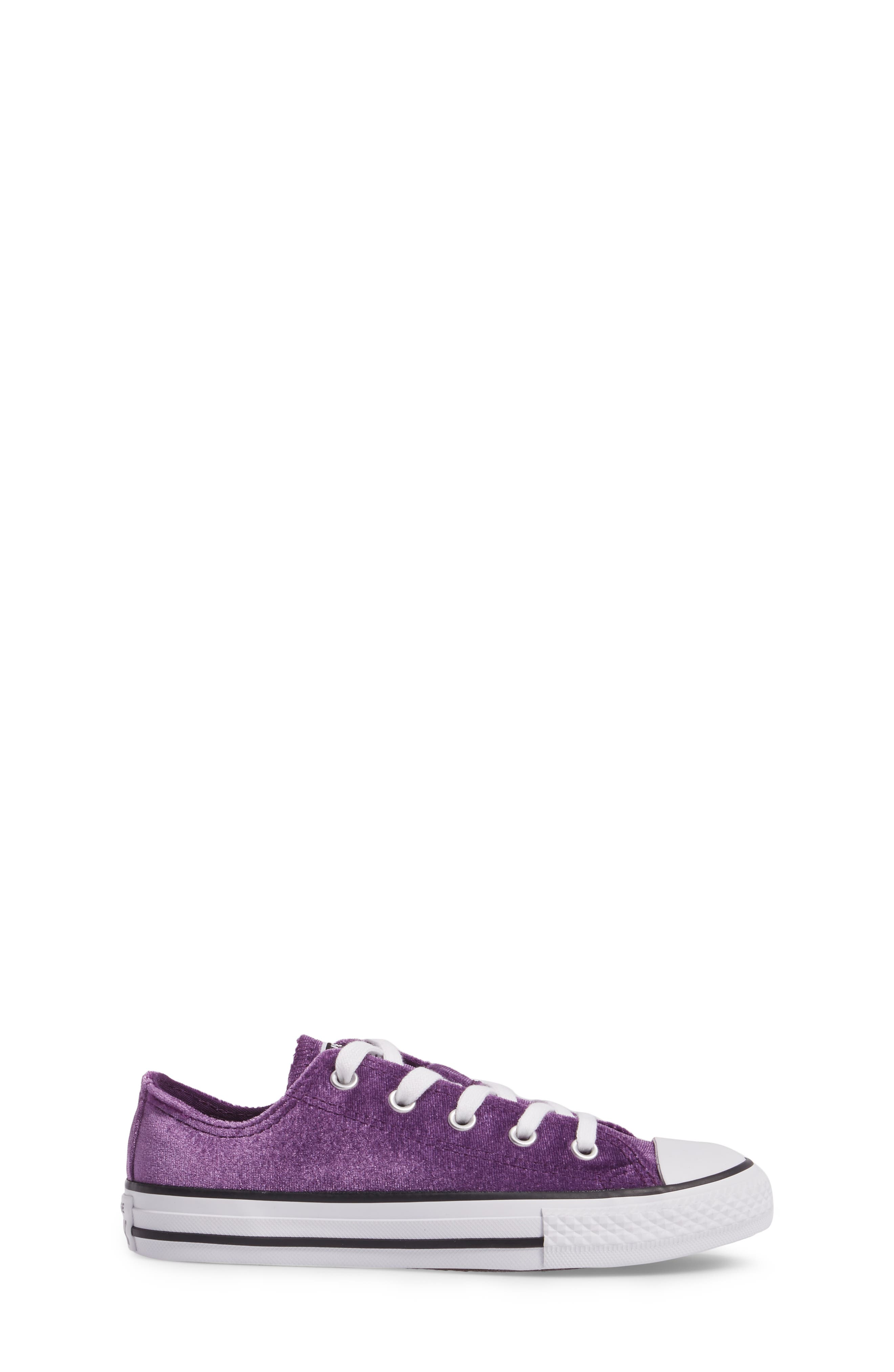 Chuck Taylor<sup>®</sup> All Star<sup>®</sup> Velvet OX Low Top Sneaker,                             Alternate thumbnail 3, color,                             500