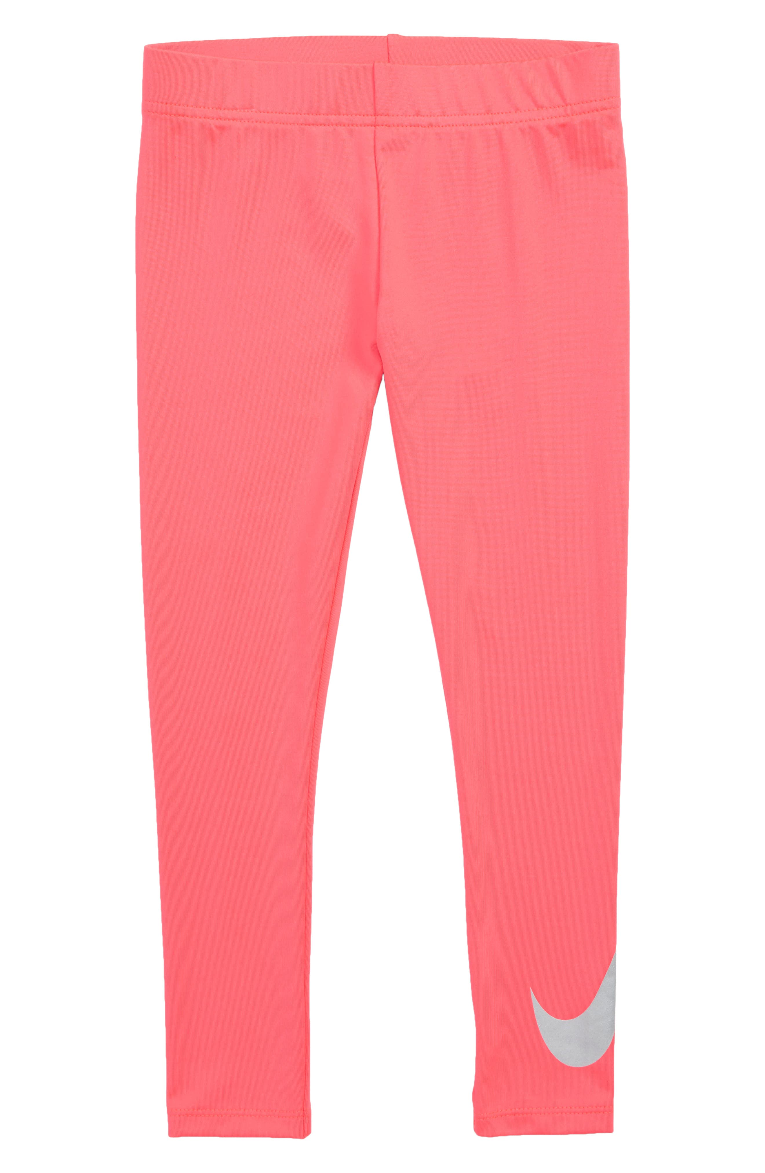 Dry Iridescent Leggings,                             Main thumbnail 1, color,                             RACER PINK