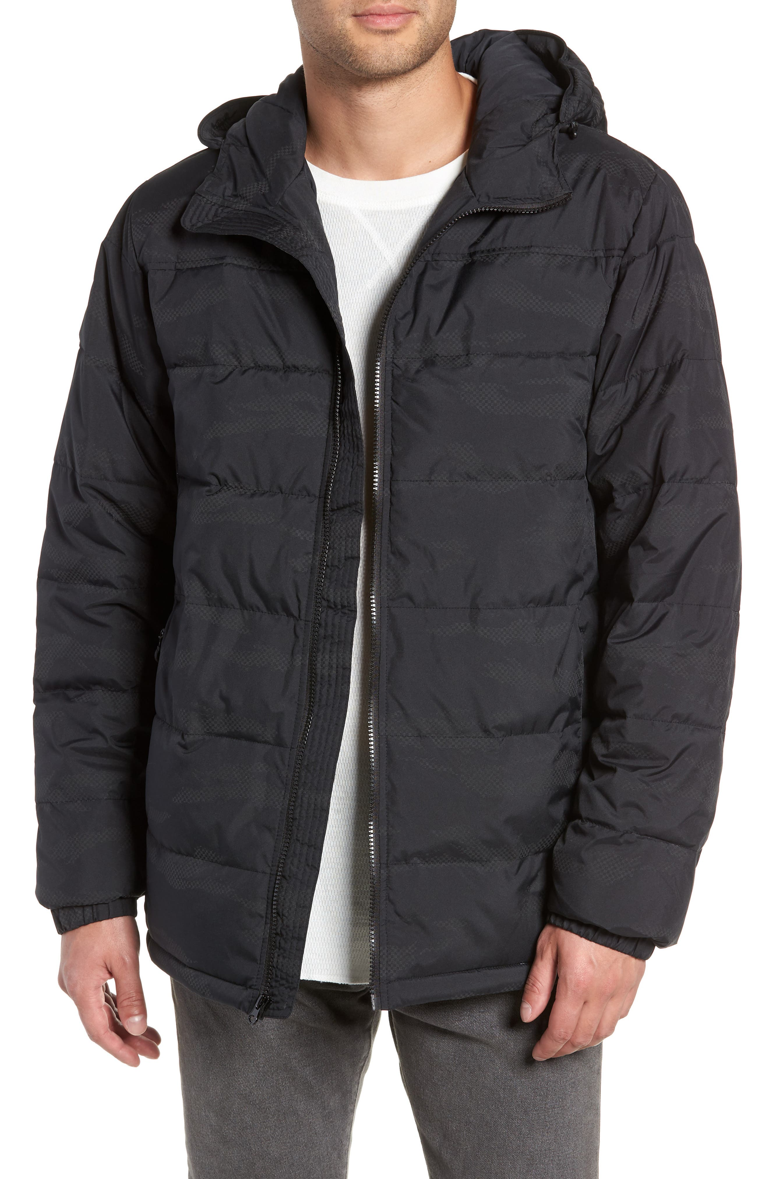 Woodcrest MTE Jacket,                         Main,                         color, BLACK REFLECTIVE
