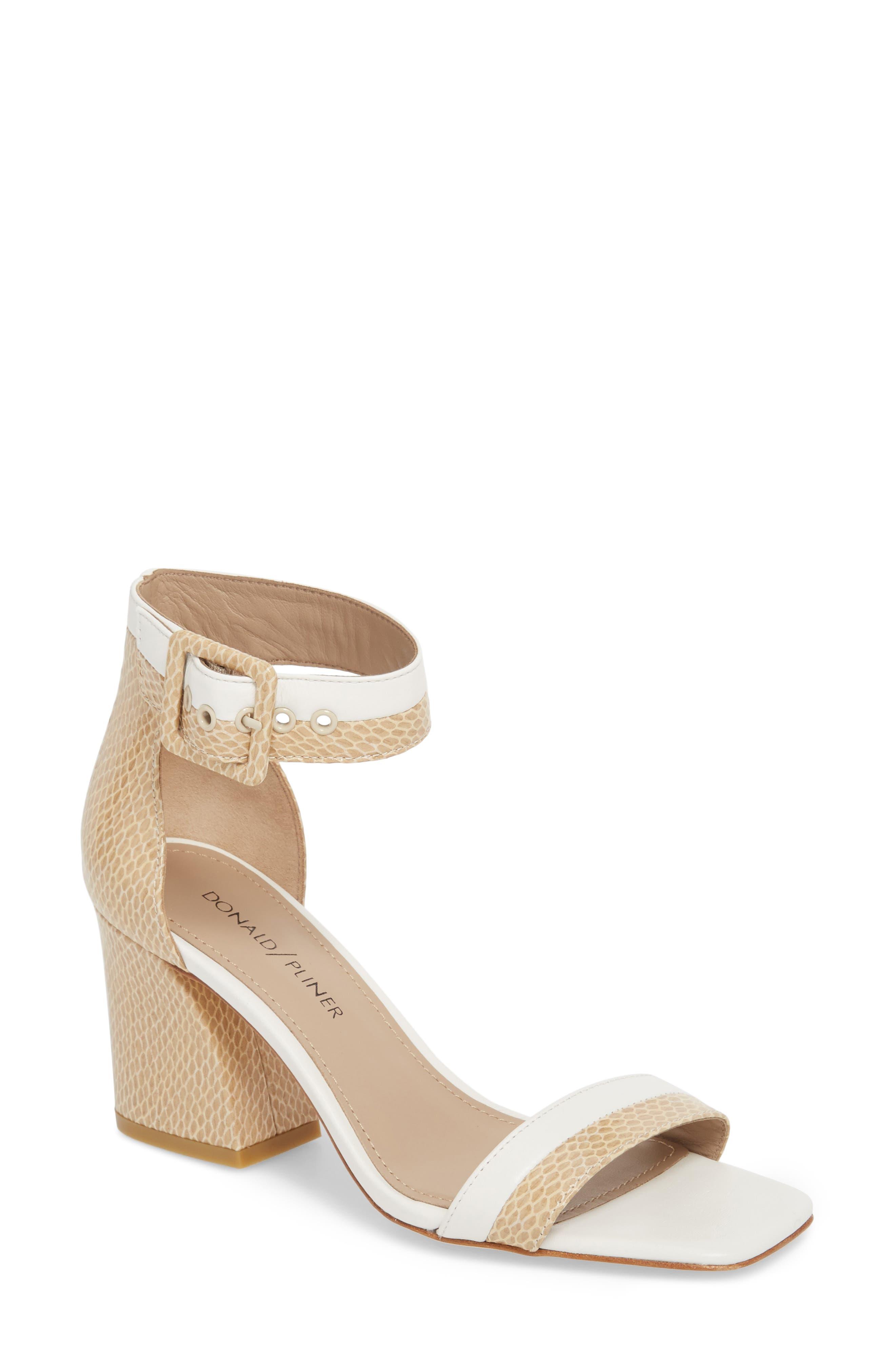 DONALD PLINER Watson Ankle Strap Sandal, Main, color, 250