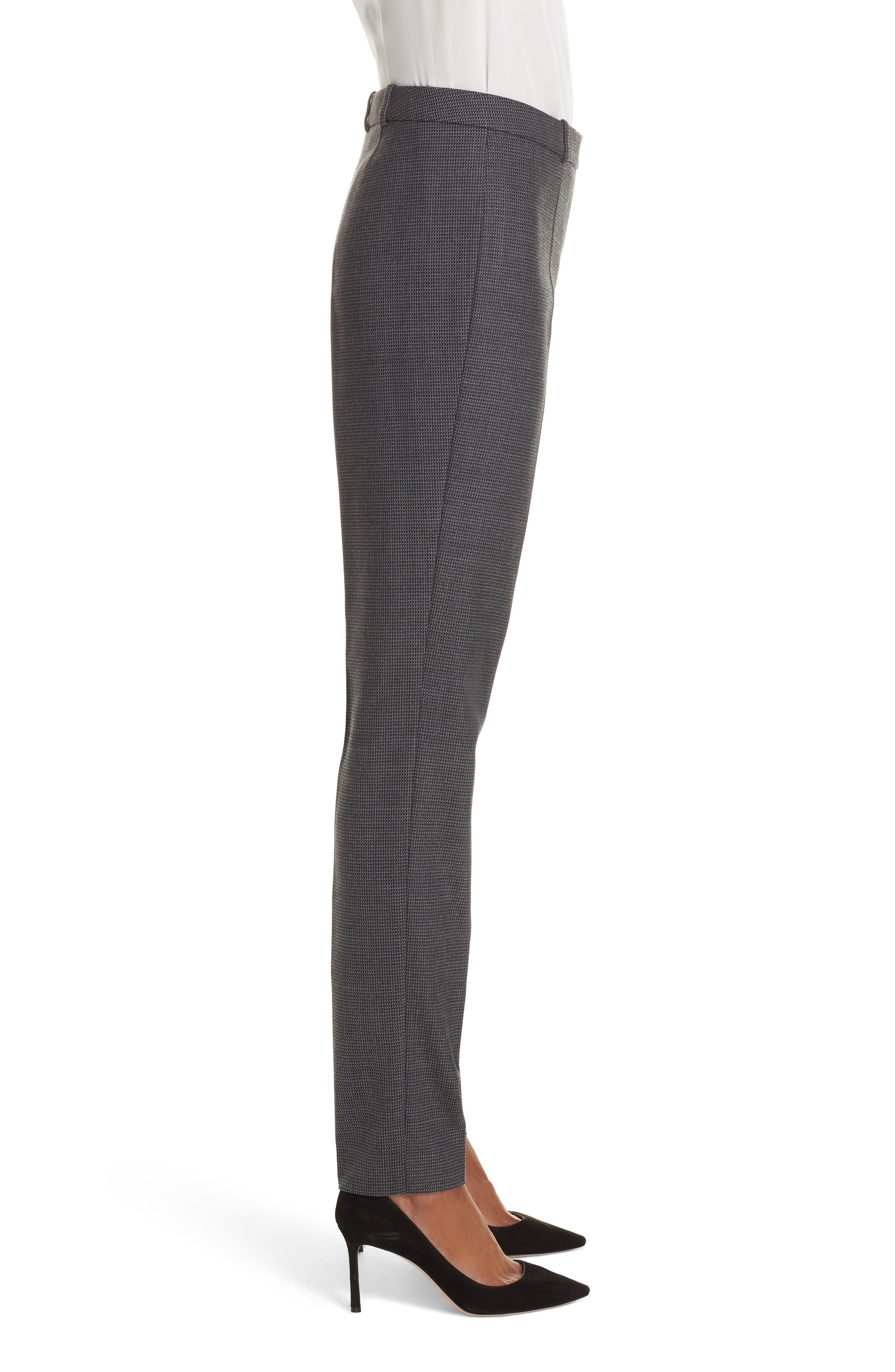 Tilunana Pinstripe Suit Trousers,                             Alternate thumbnail 3, color,                             020