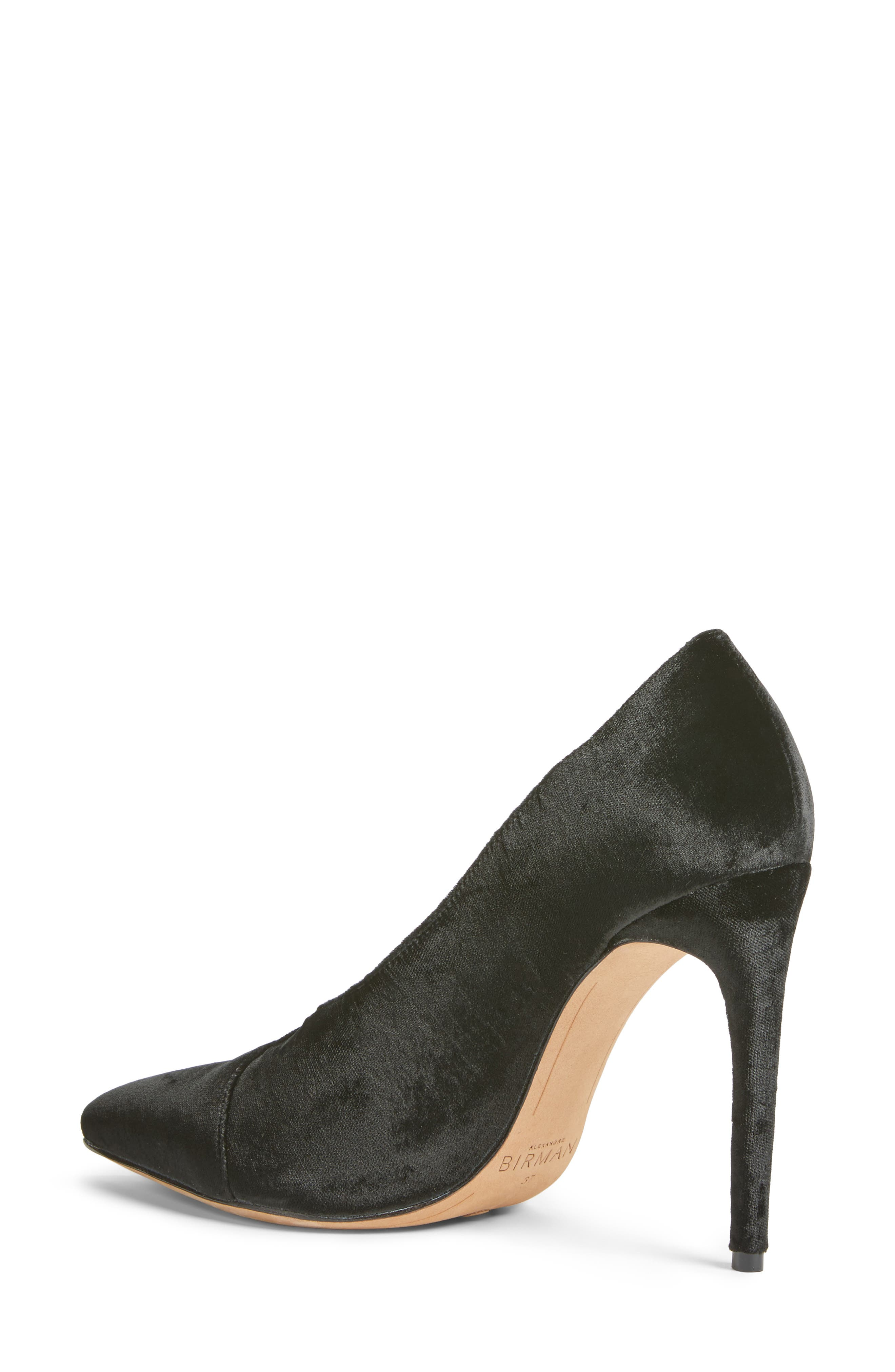Clarice Pointy Toe Pump,                             Alternate thumbnail 2, color,                             001