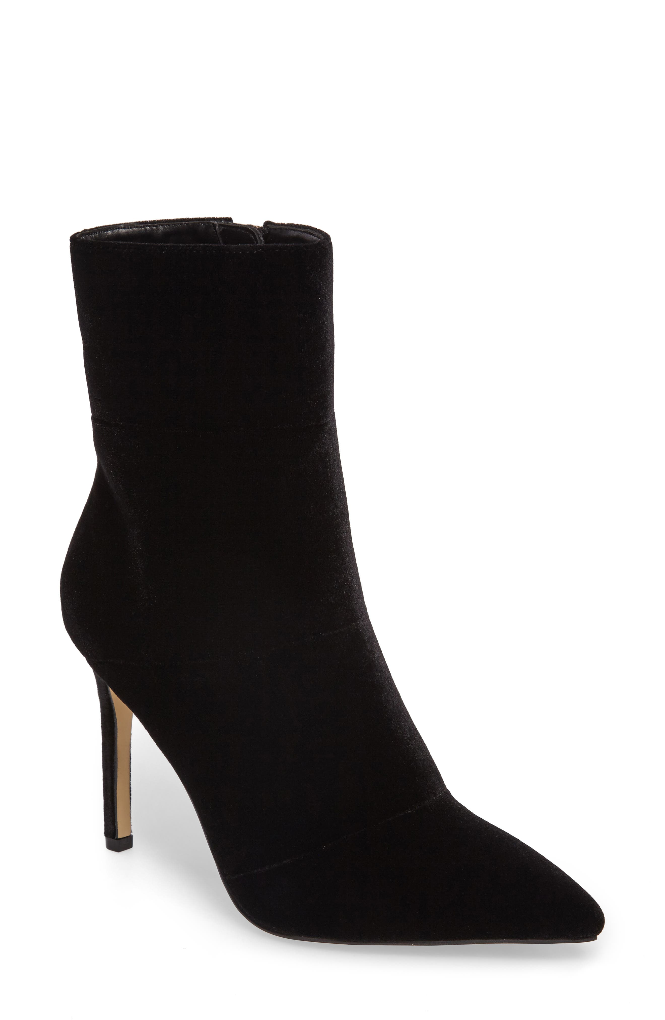 by Zendaya Nicolette Pointy Toe Bootie,                             Main thumbnail 1, color,                             006