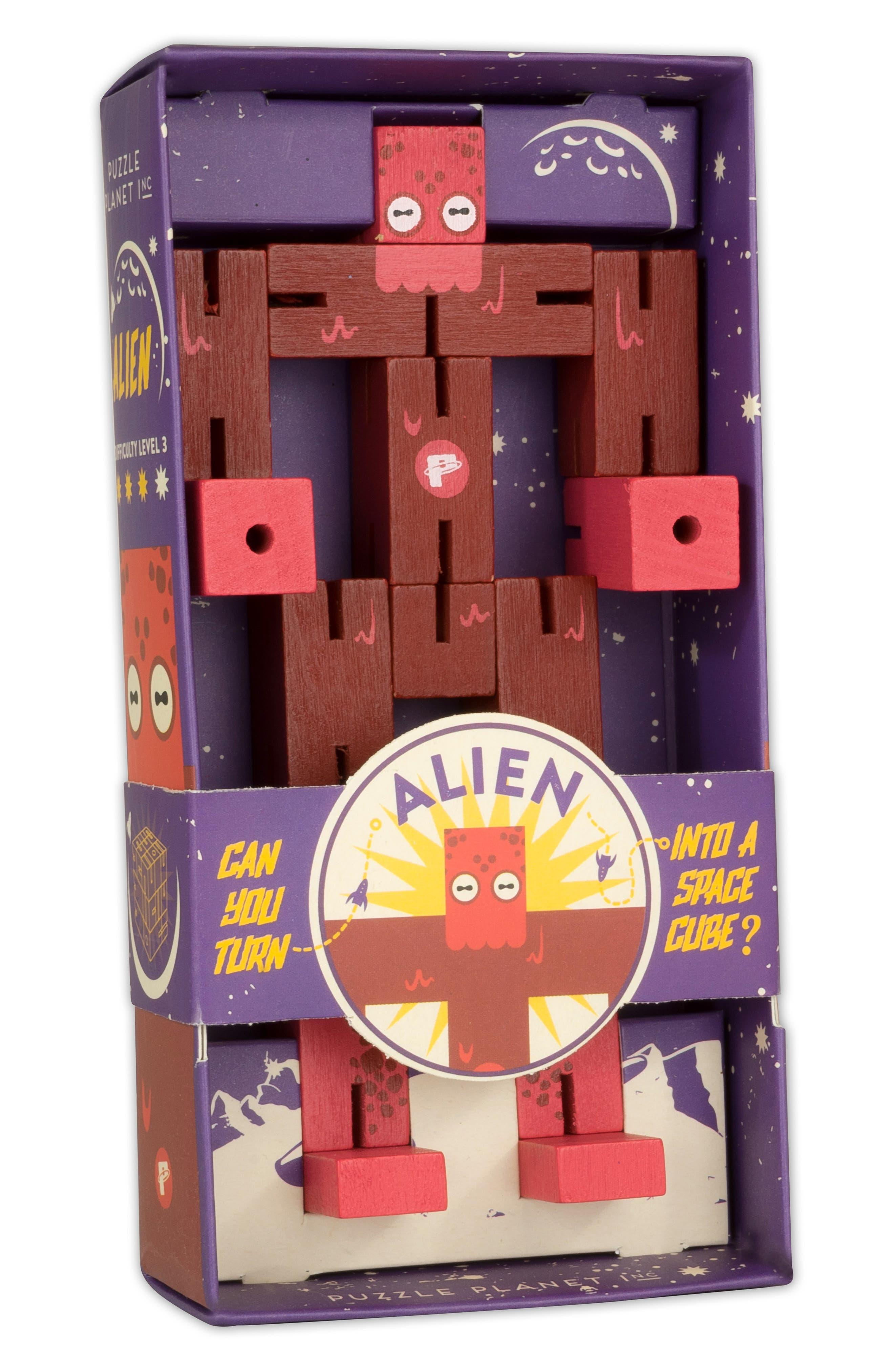 Planet Alien Puzzle,                             Alternate thumbnail 2, color,                             600