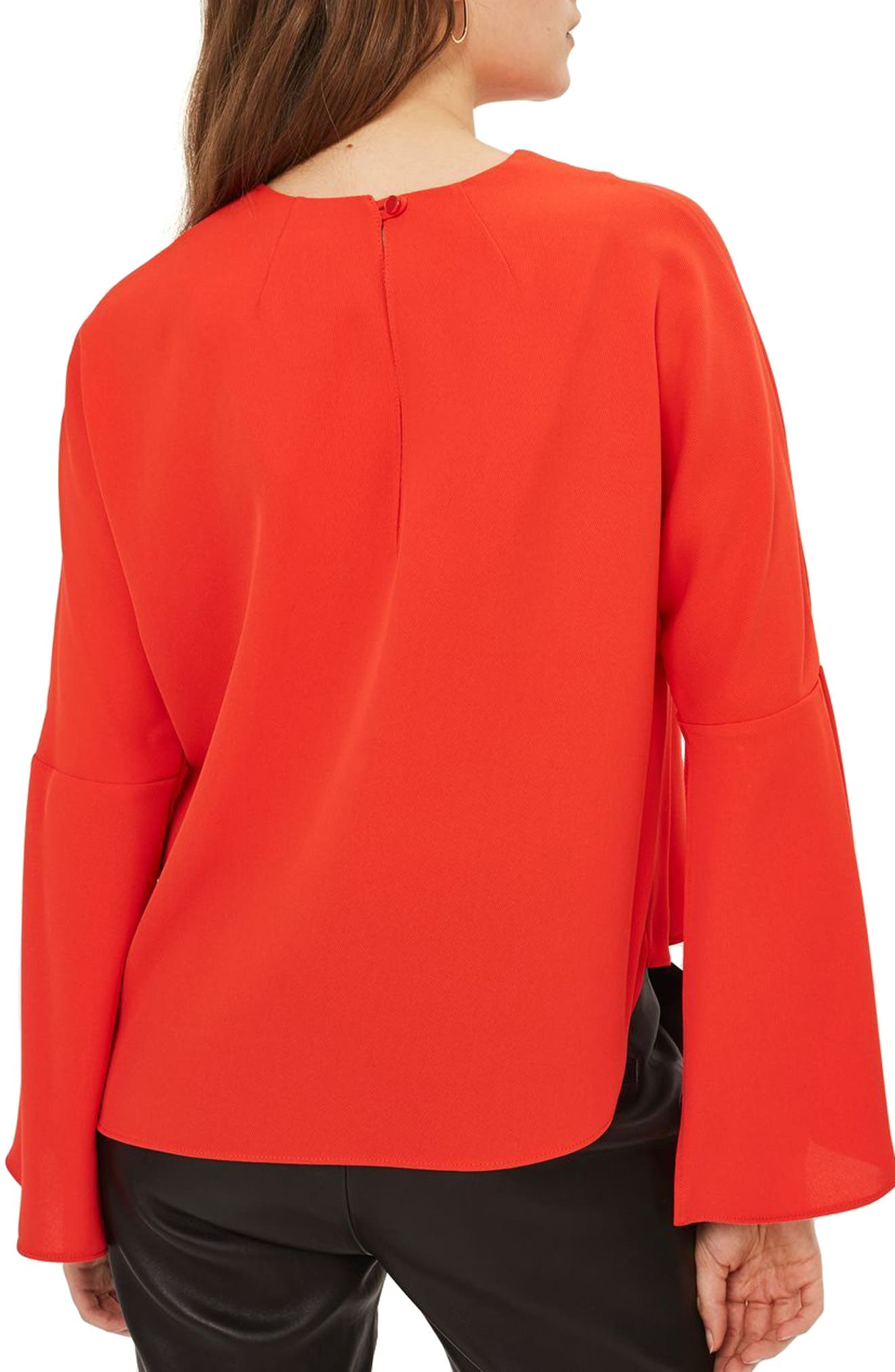 Split Sleeve Top,                             Alternate thumbnail 5, color,