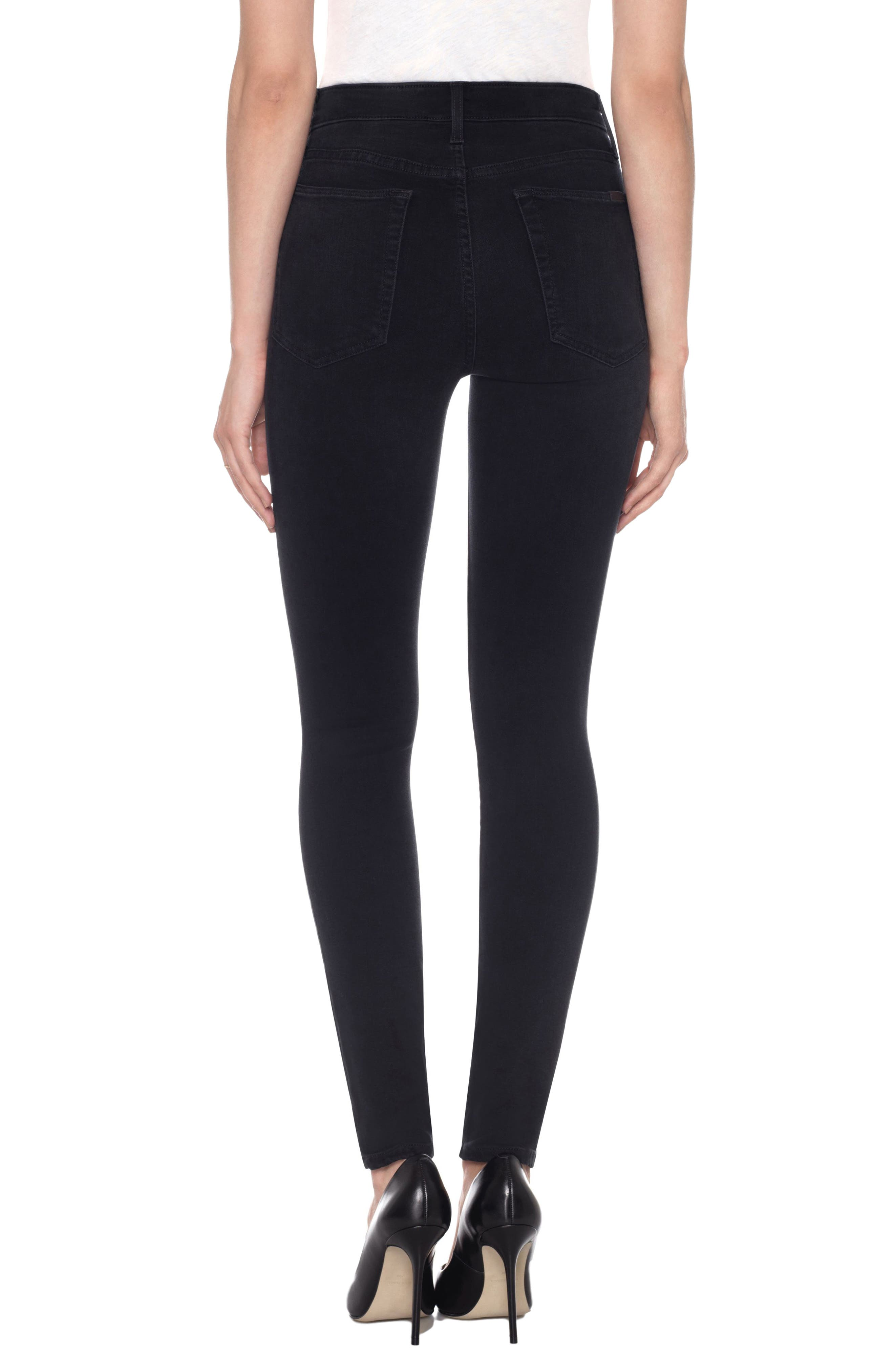 Charlie High Waist Ankle Skinny Jeans,                             Alternate thumbnail 2, color,                             011