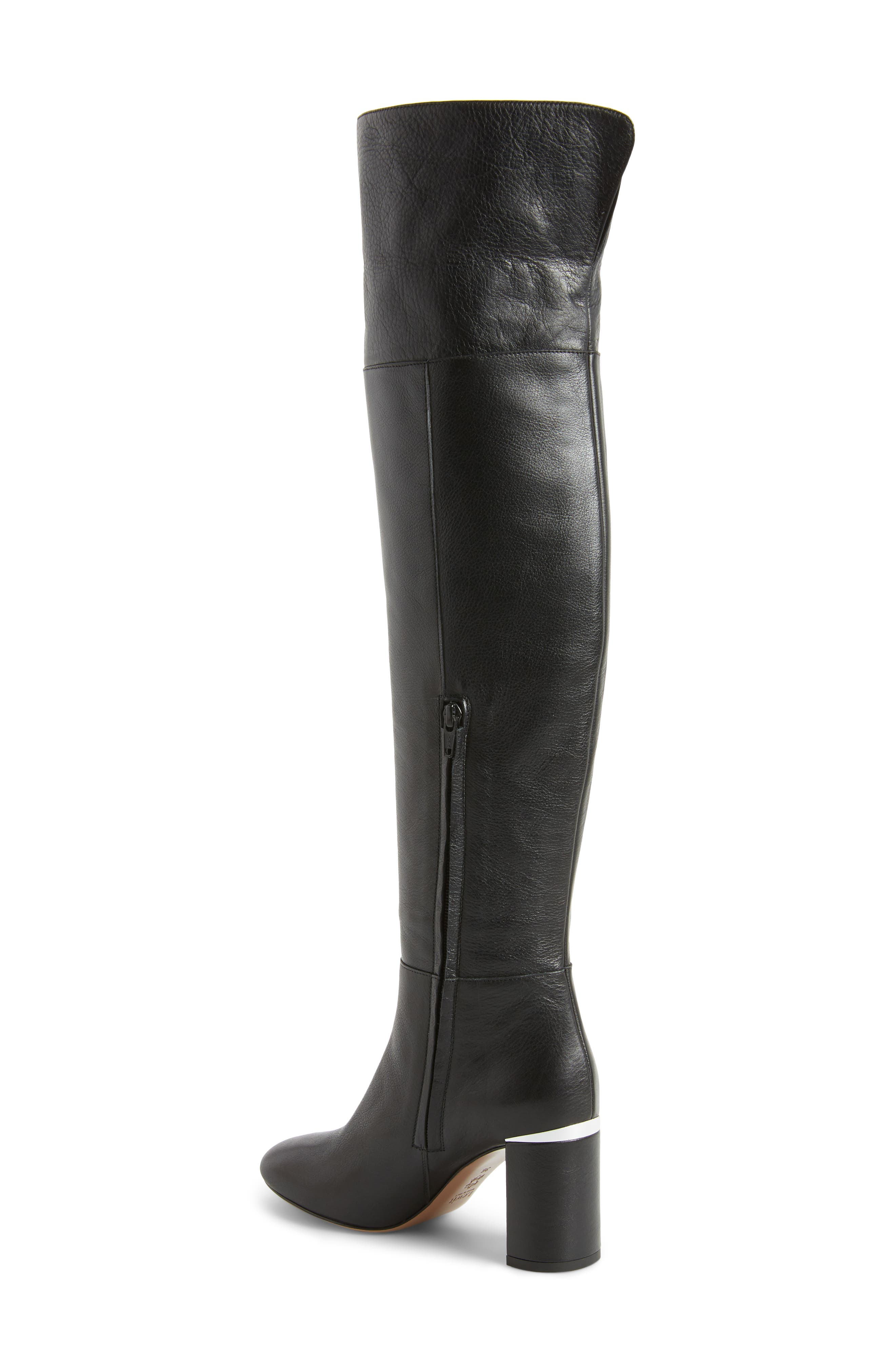 Renata Cuff Over the Knee Boot,                             Alternate thumbnail 2, color,                             001