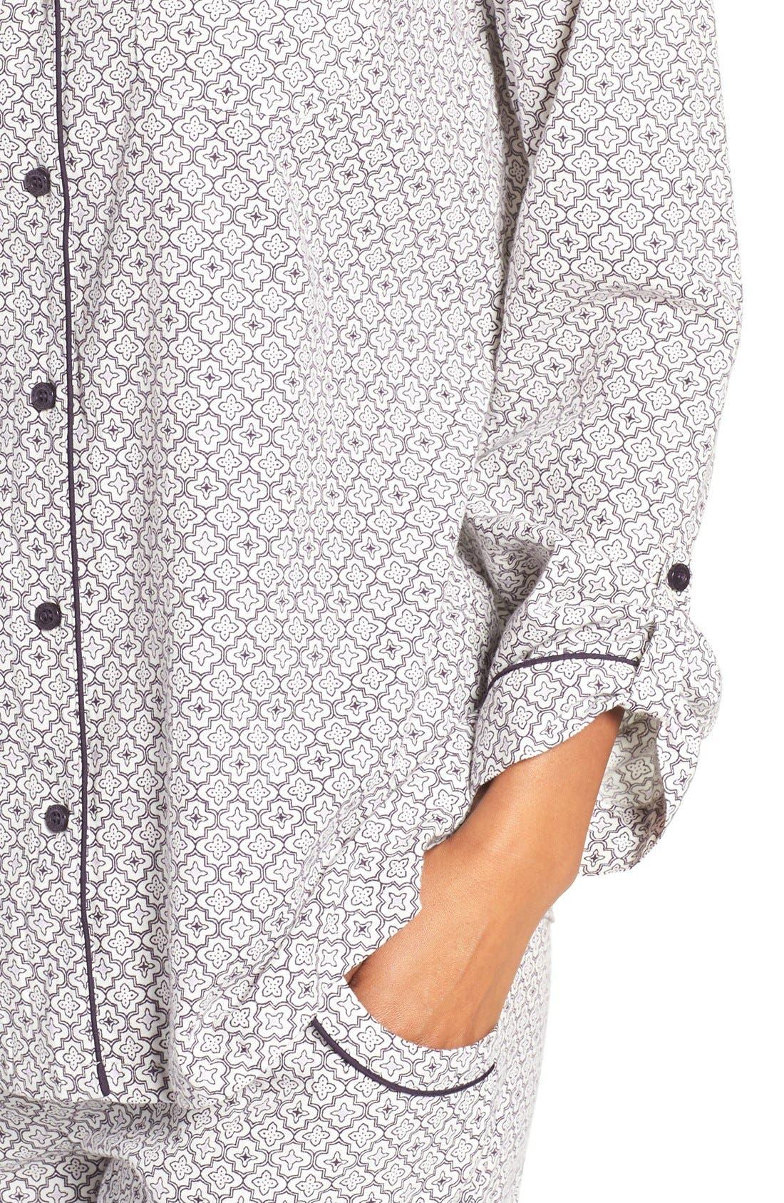 Cotton Twill Pajamas,                             Alternate thumbnail 41, color,