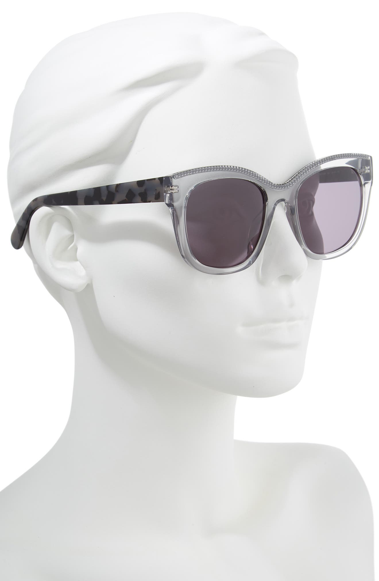 54mm Sunglasses,                             Alternate thumbnail 2, color,                             GREY HAVANA