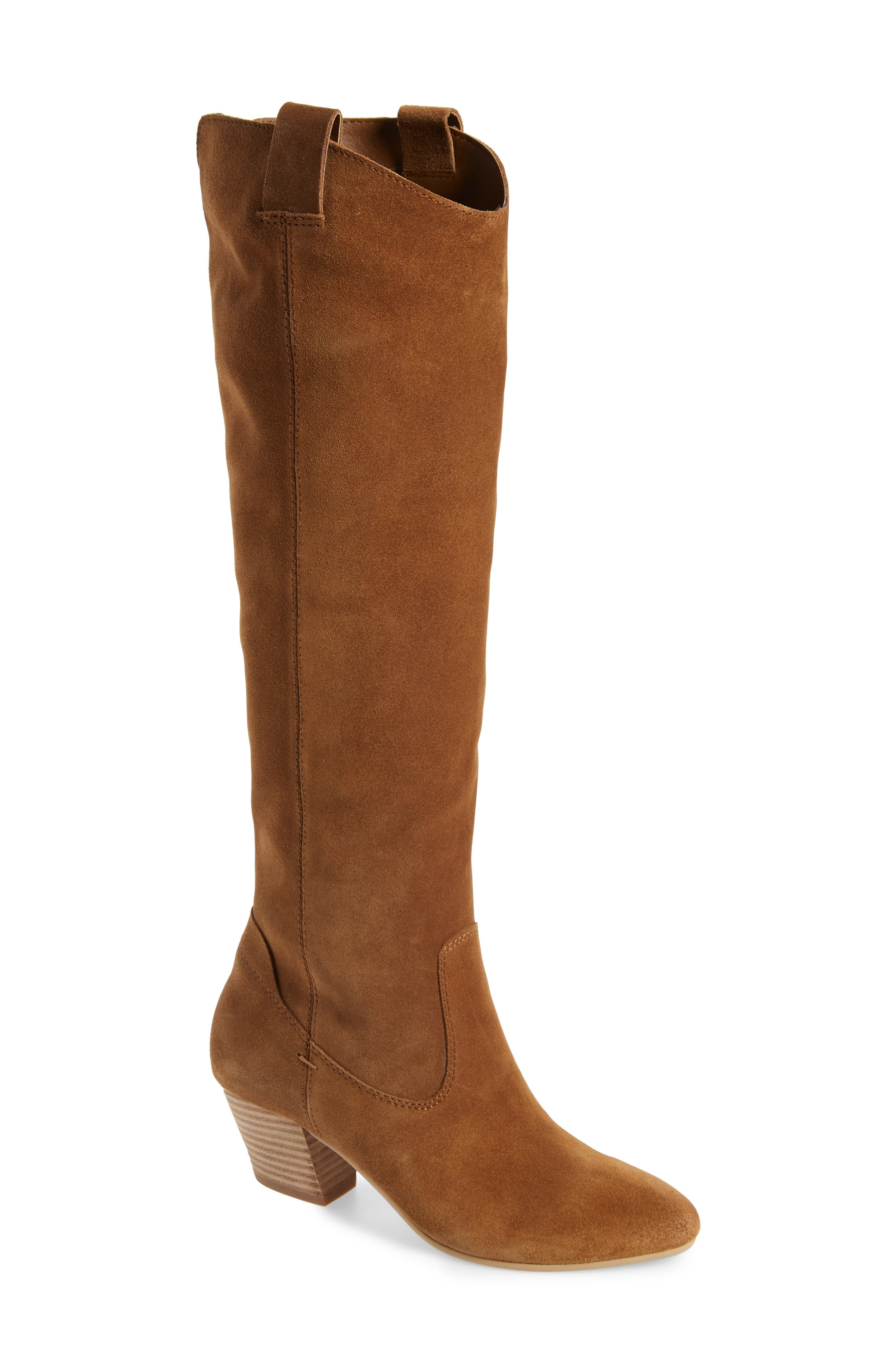 Dolce Vita Hinley Knee High Boot- Brown