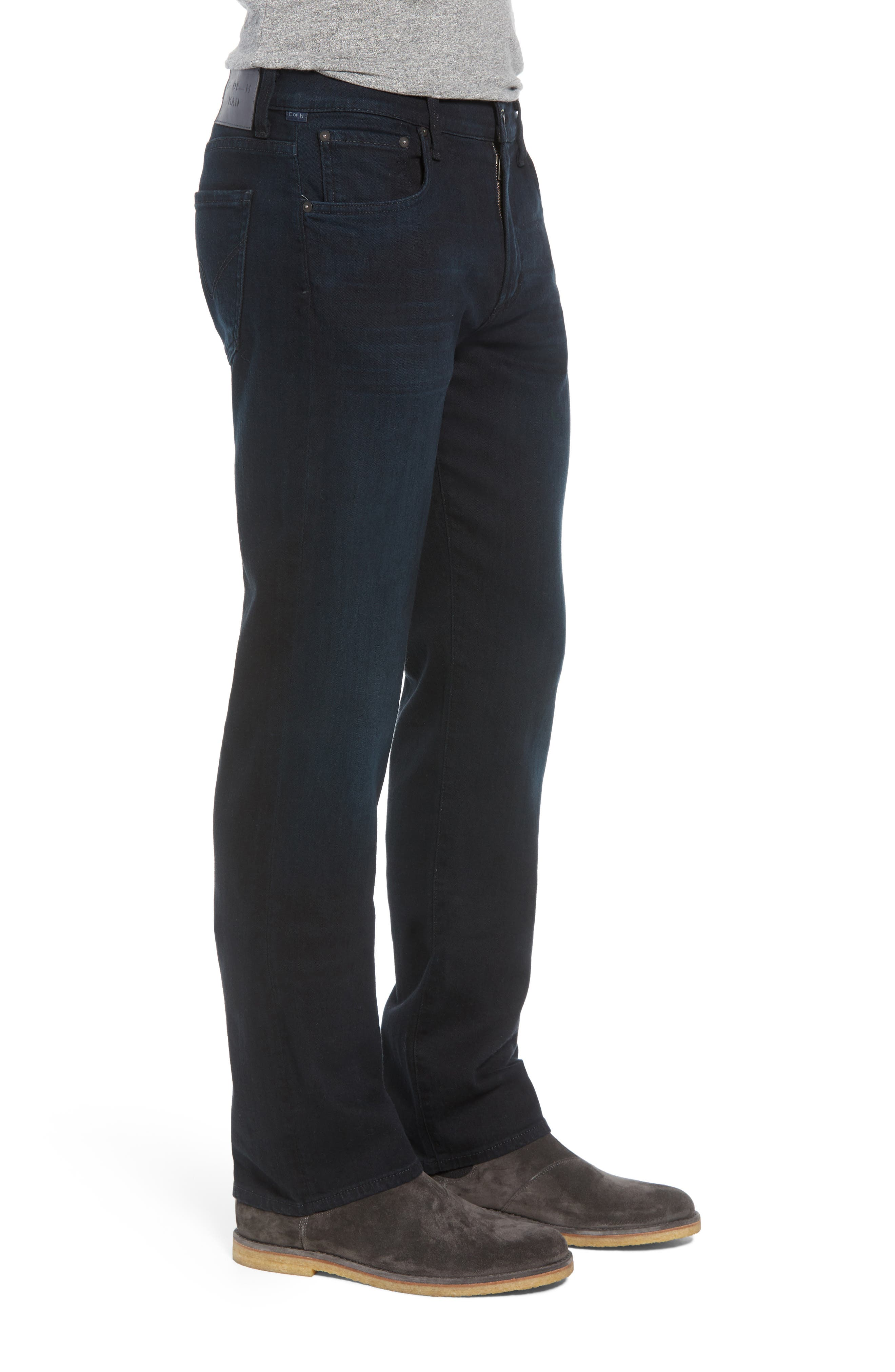 Sid Straight Leg Jeans,                             Alternate thumbnail 3, color,                             STAGE