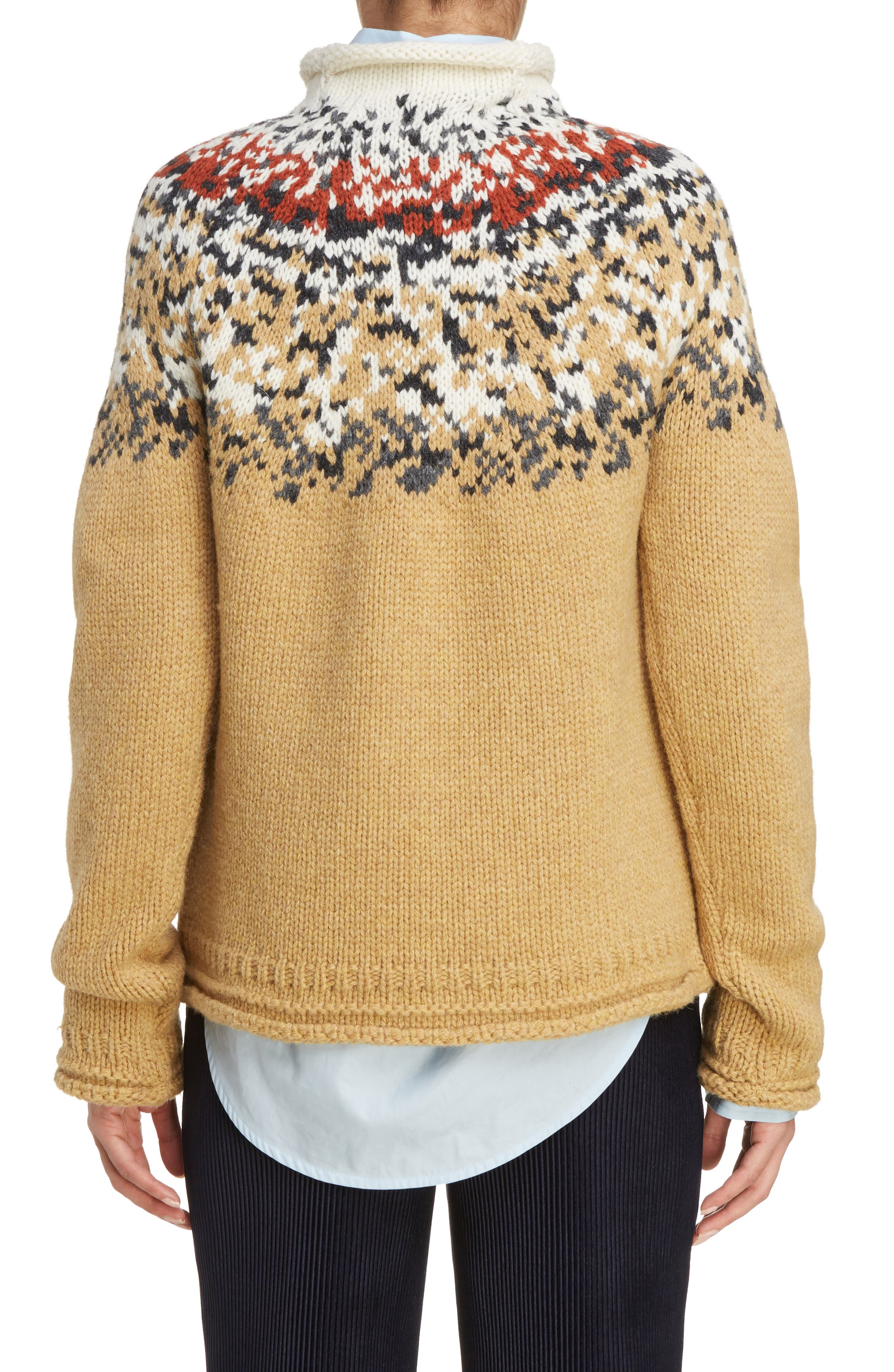 Sirius Heavy Icelandic High Neck Sweater,                             Alternate thumbnail 2, color,                             250