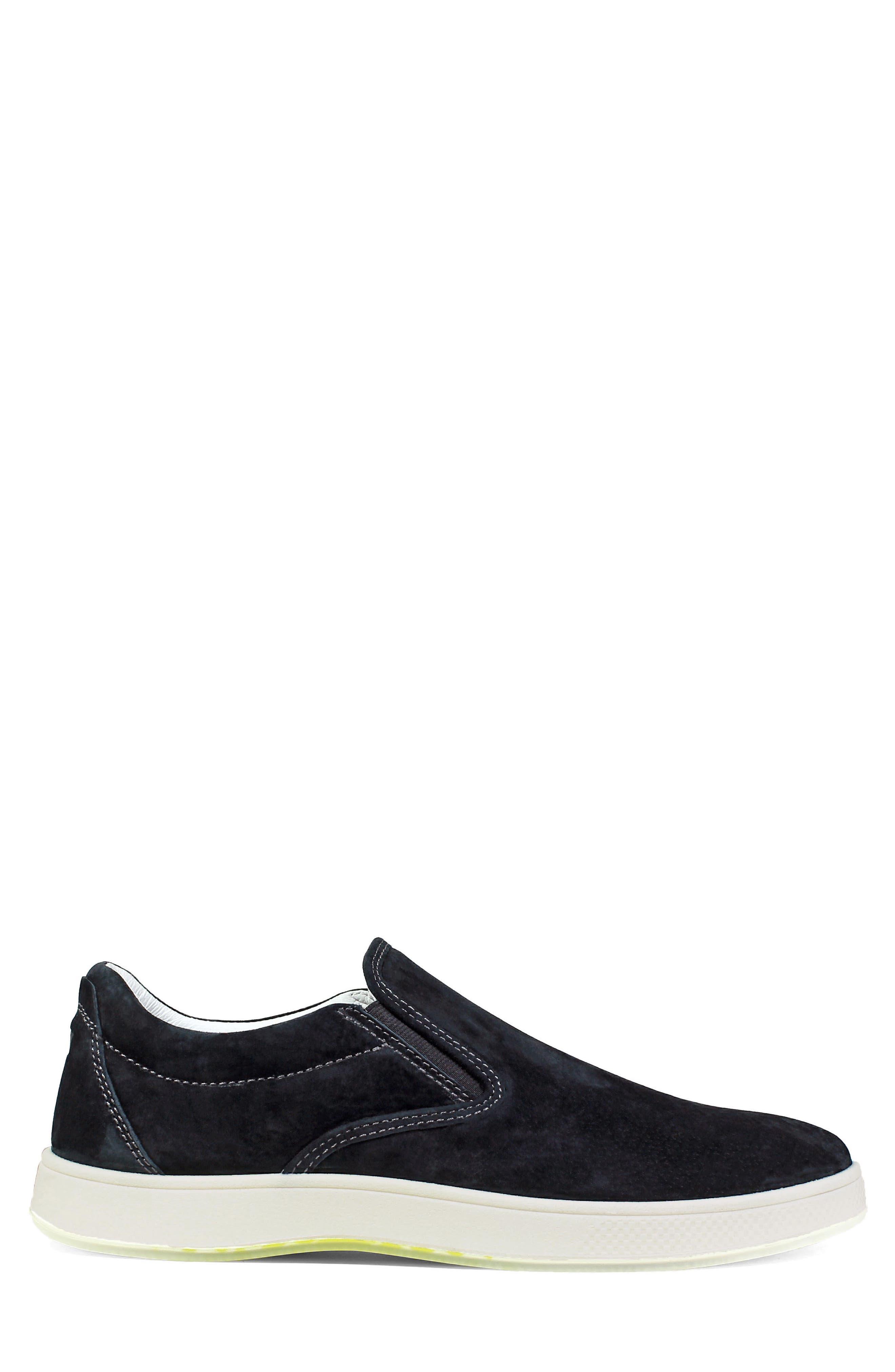 FLORSHEIM,                             Edge Slip-On Sneaker,                             Alternate thumbnail 3, color,                             001