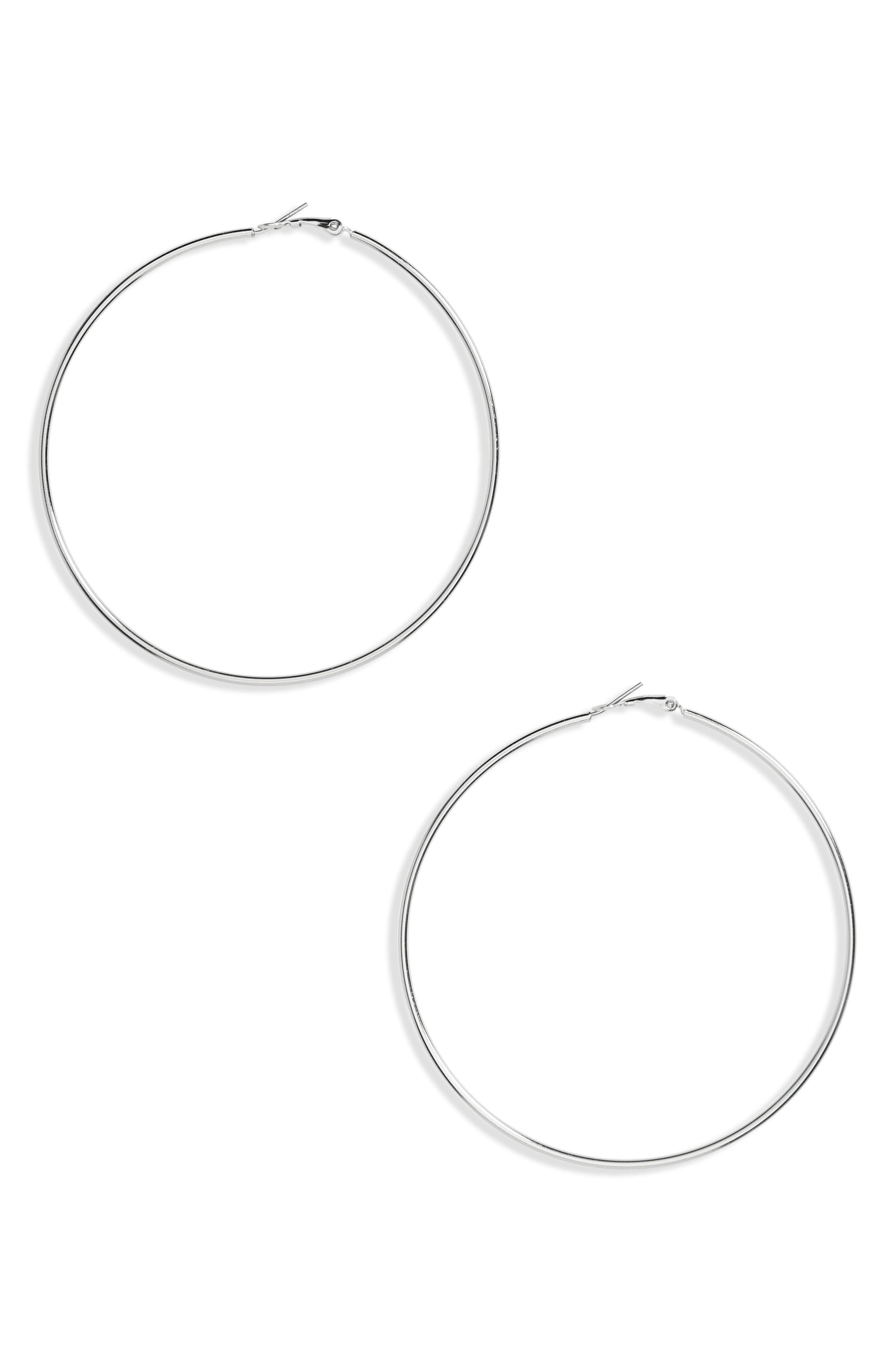 Hoop Earrings,                             Main thumbnail 1, color,