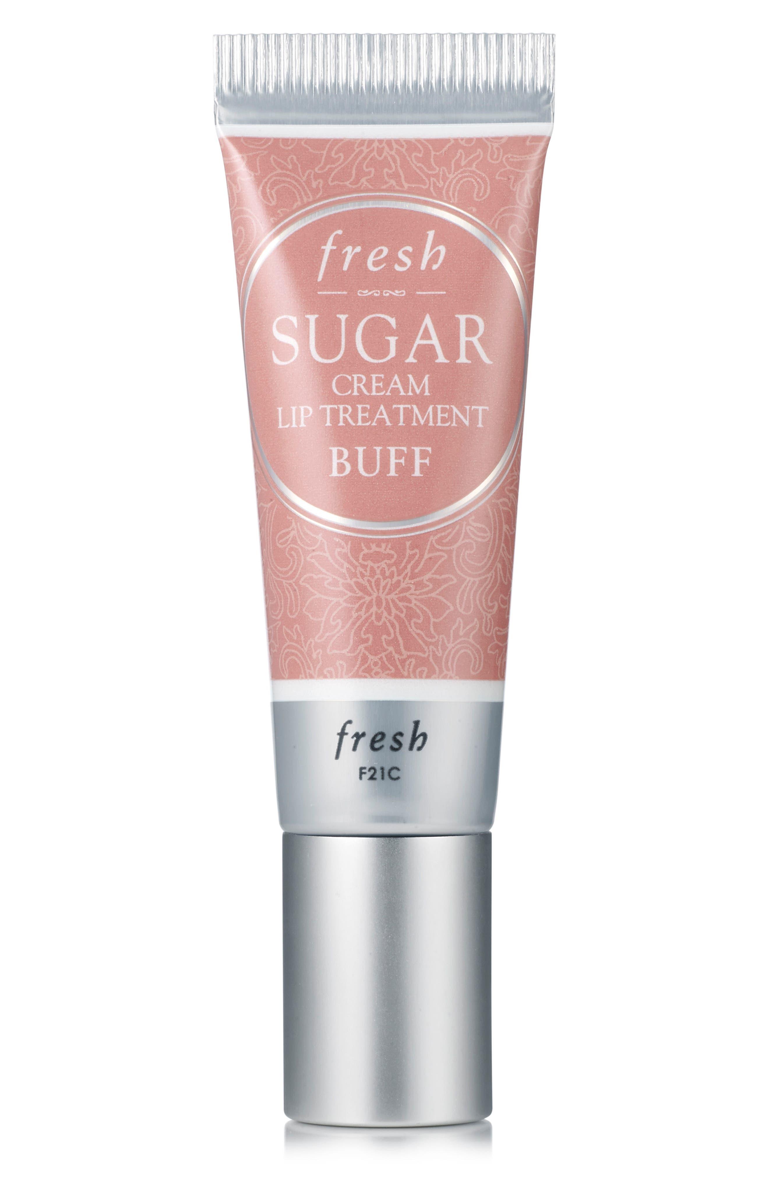 Sugar Cream Lip Treatment,                             Main thumbnail 1, color,                             BUFF