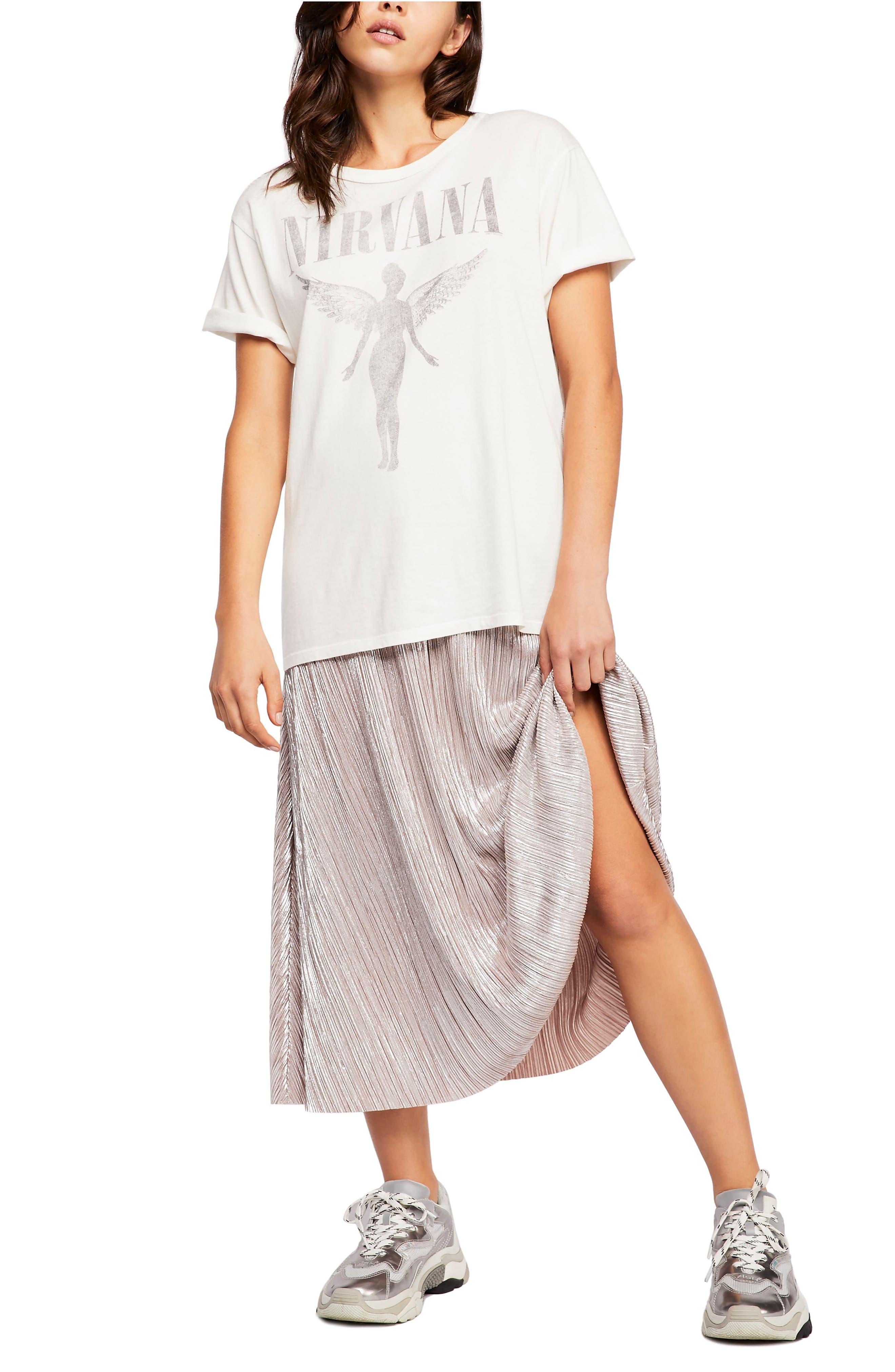 High Holiday Midi Skirt,                             Alternate thumbnail 5, color,                             040