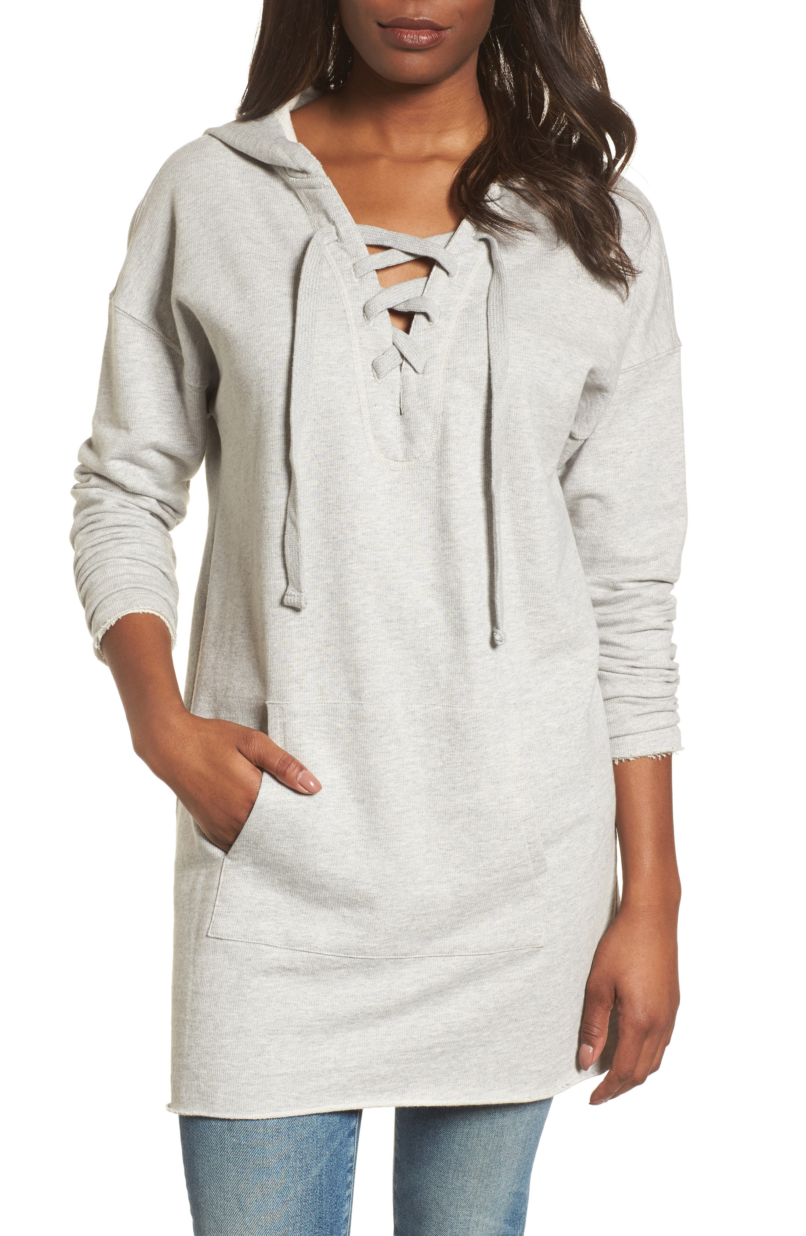 Lower East Hoodie Tunic,                             Main thumbnail 1, color,                             064