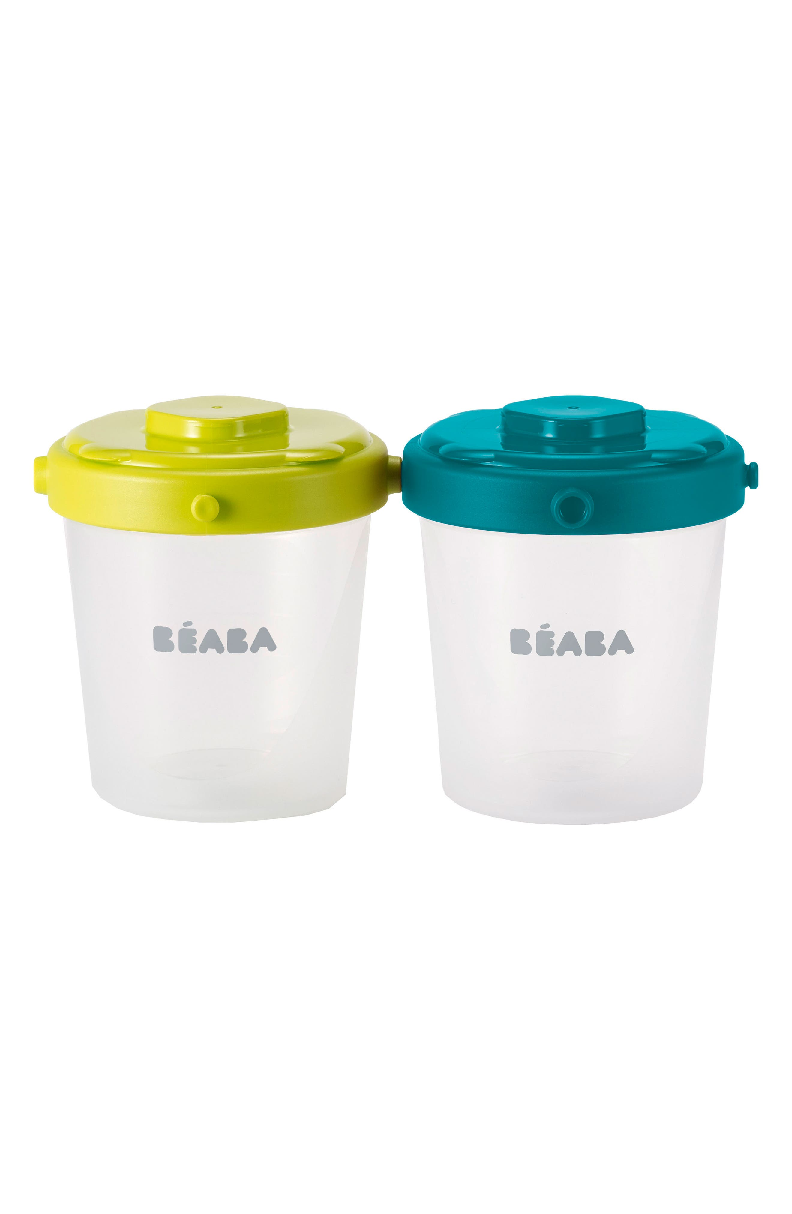 6-Pack Clip Portion Containers,                             Alternate thumbnail 2, color,                             PEACOCK