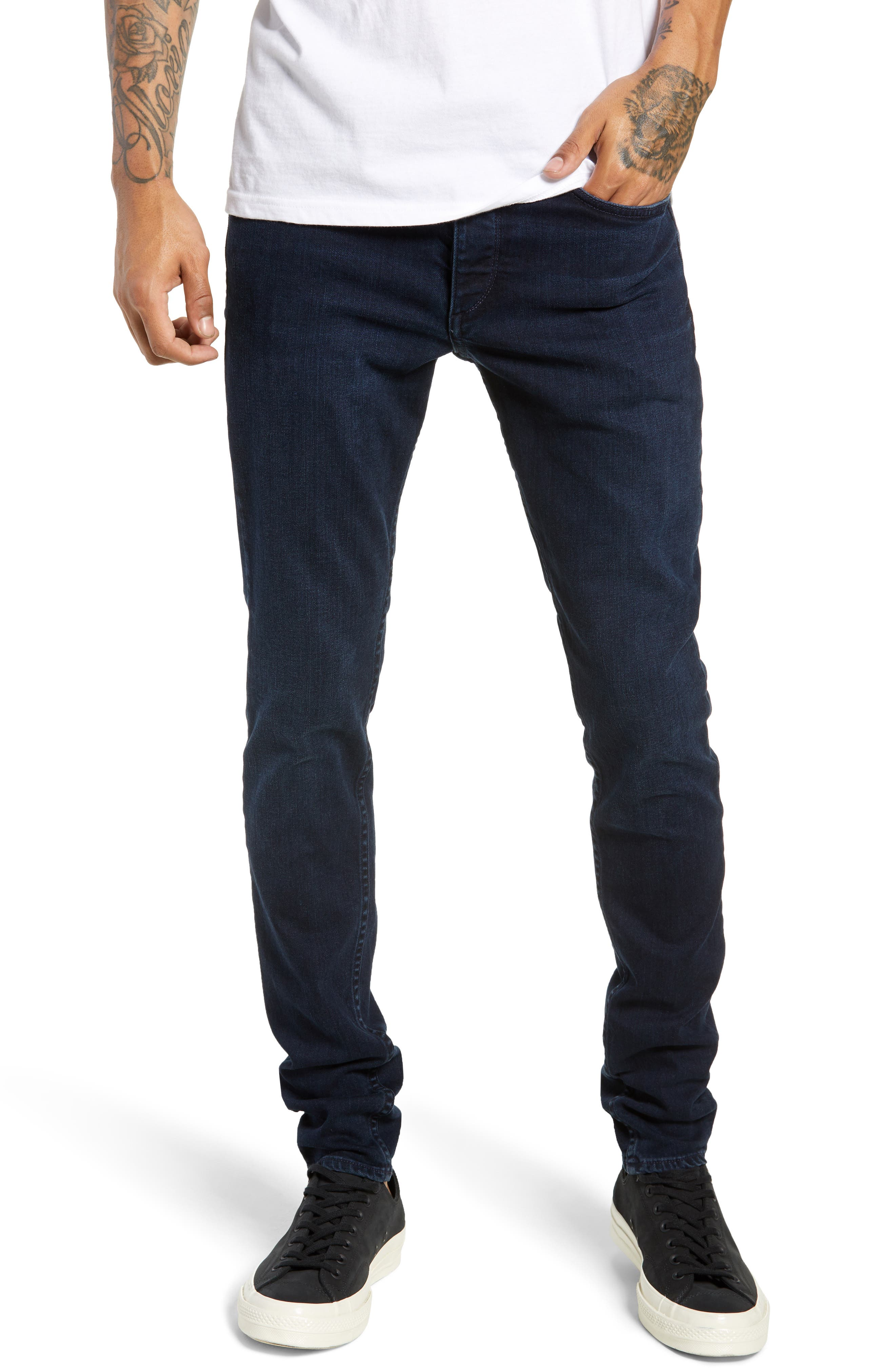 Fit 1 Skinny Fit Jeans,                         Main,                         color, 420