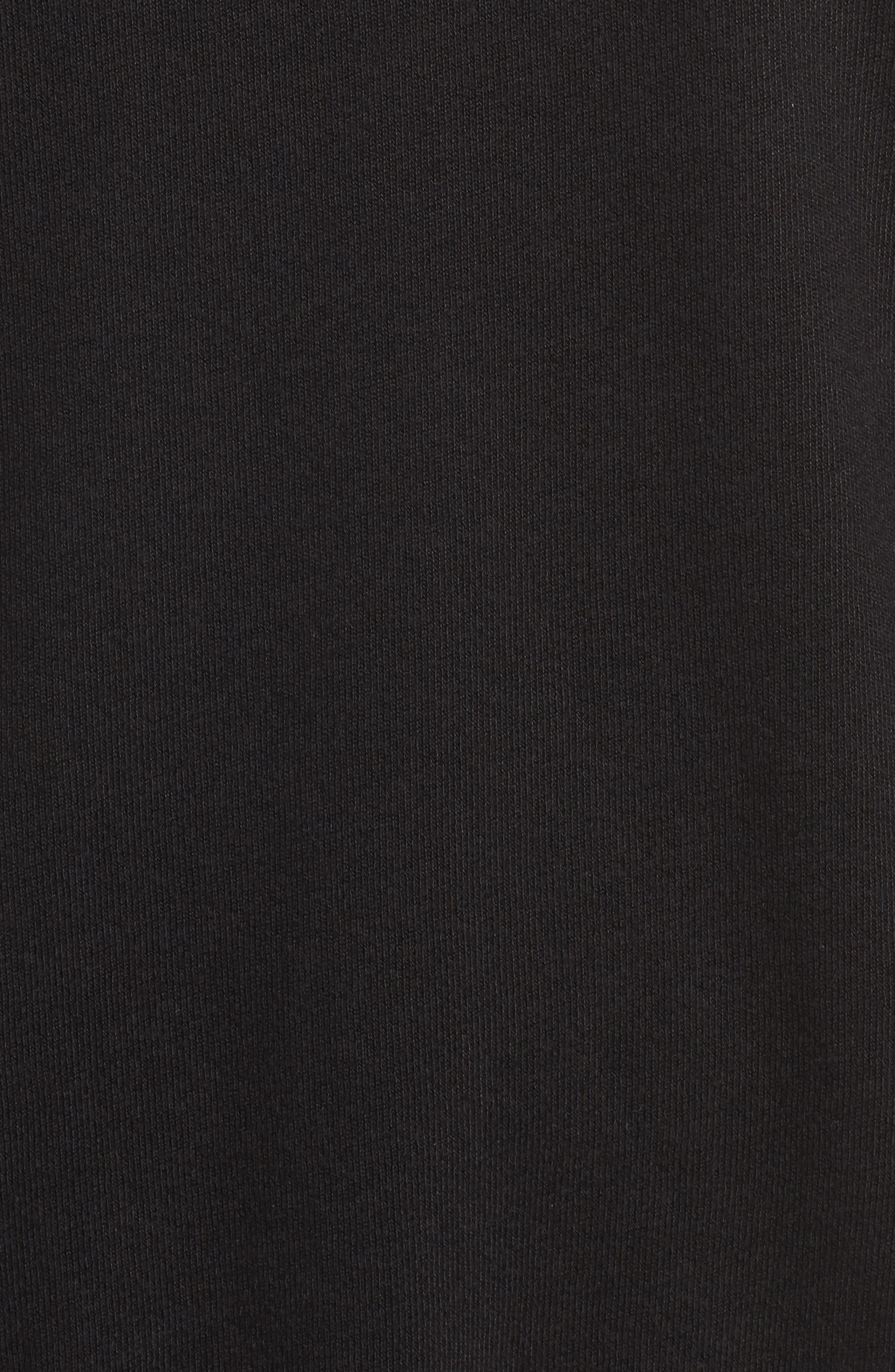Zuma Mock Neck Sweatshirt,                             Alternate thumbnail 5, color,                             001