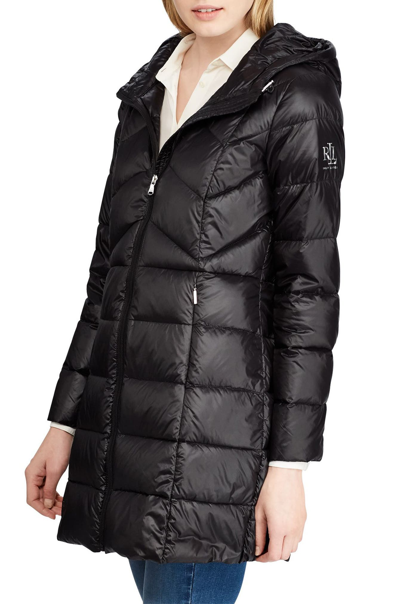 Packable Quilted Puffer Jacket by Lauren Ralph Lauren