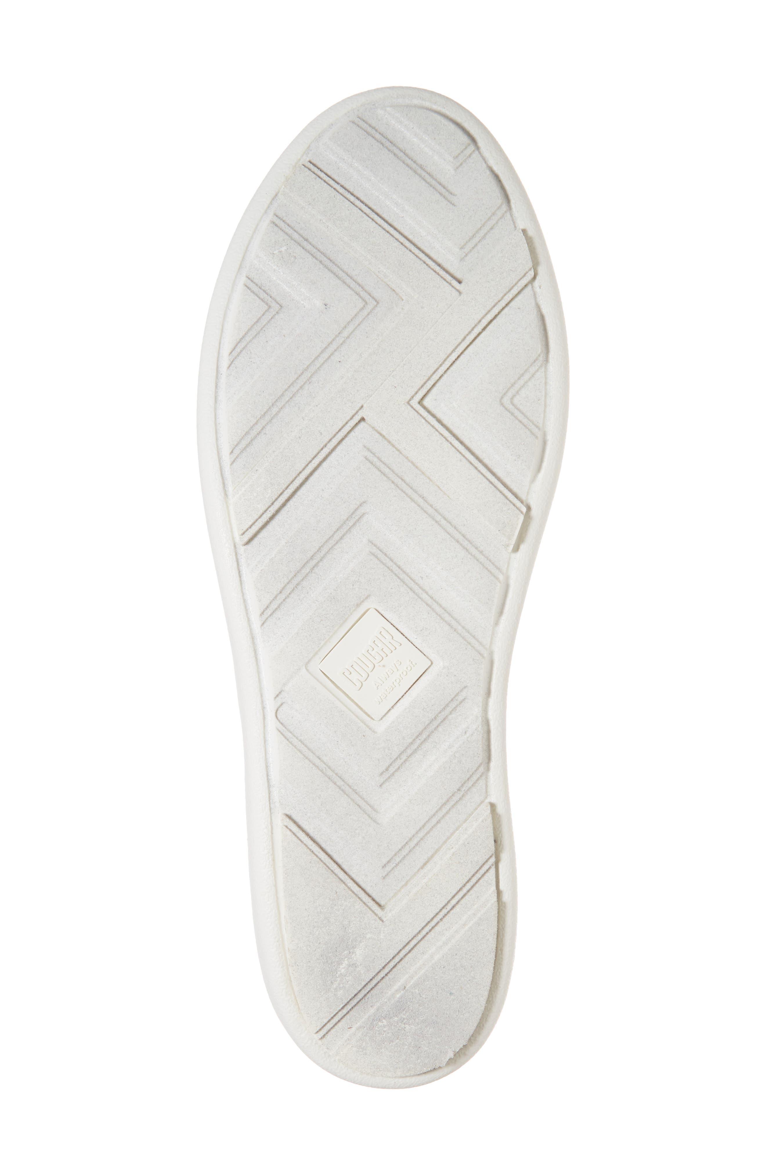 Rainy Day Waterproof Slip-On Sneaker,                             Alternate thumbnail 6, color,                             001