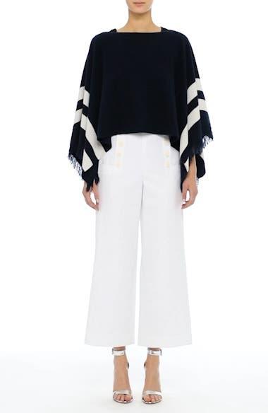 Cotton & Linen Crop Wide Leg Pants, video thumbnail