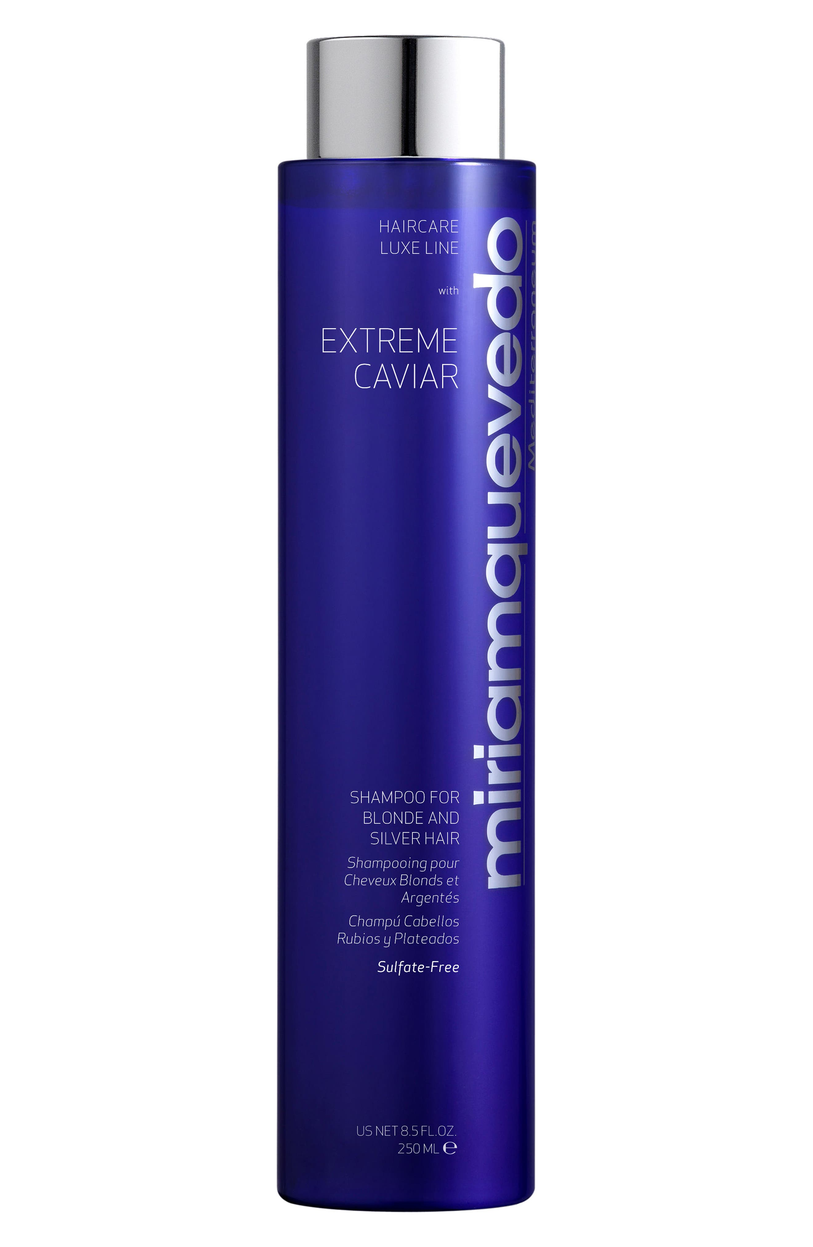 MIRIAM QUEVEDO Extreme Caviar Shampoo For Blonde And Silver Hair