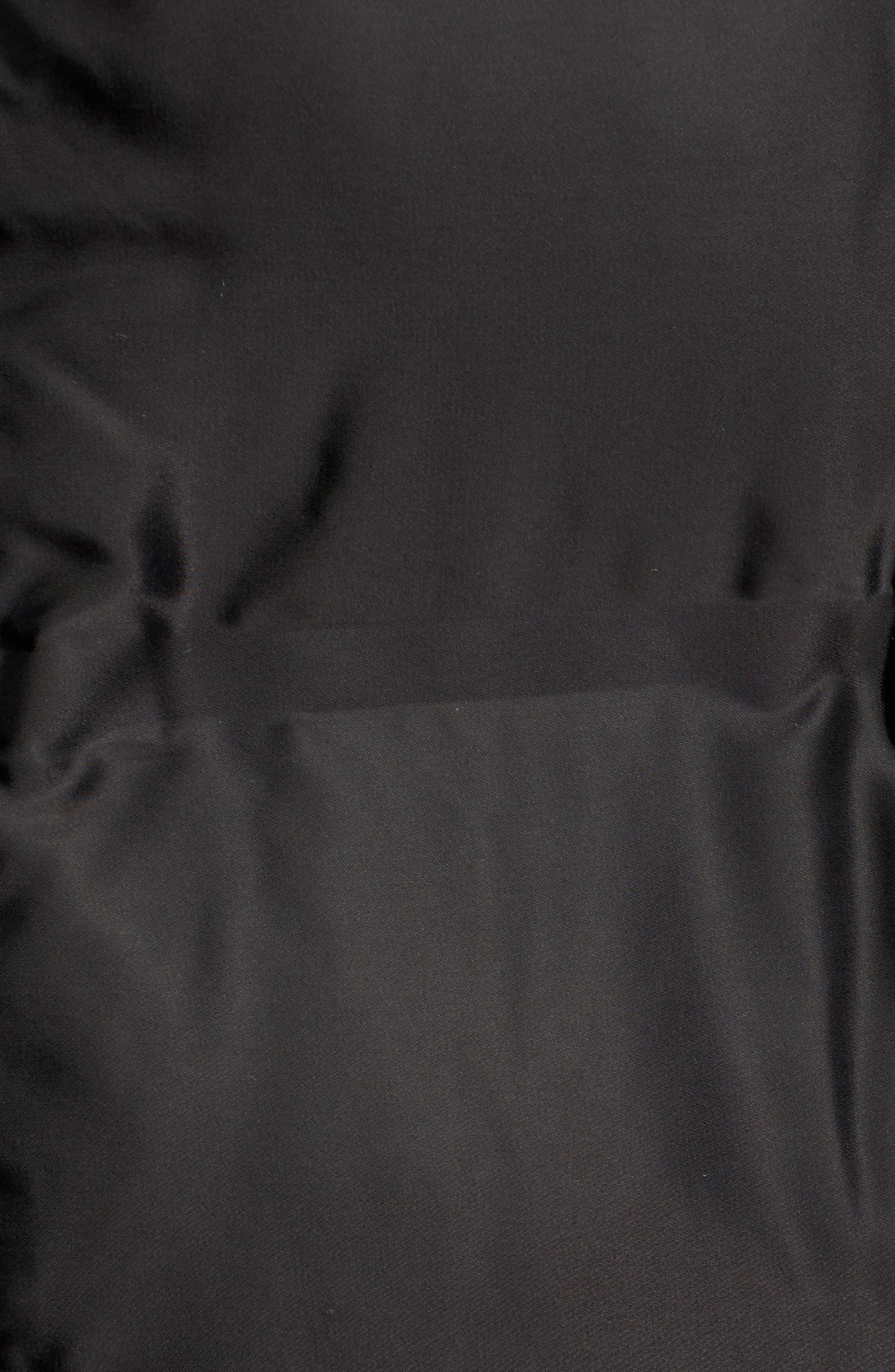 Longline Bonded Puffer Jacket,                             Alternate thumbnail 7, color,