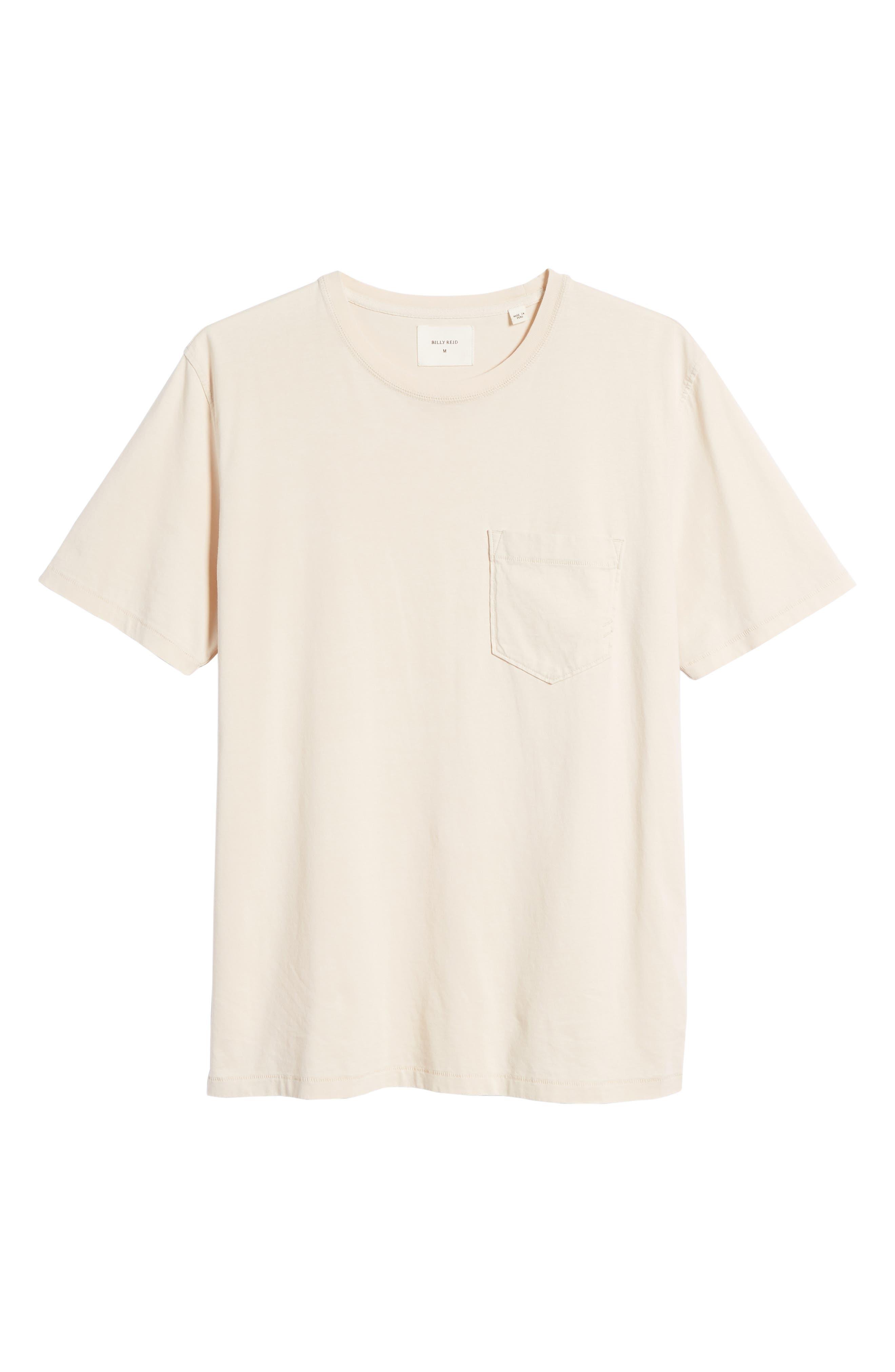 Crewneck T-Shirt,                             Alternate thumbnail 6, color,                             BLUSH