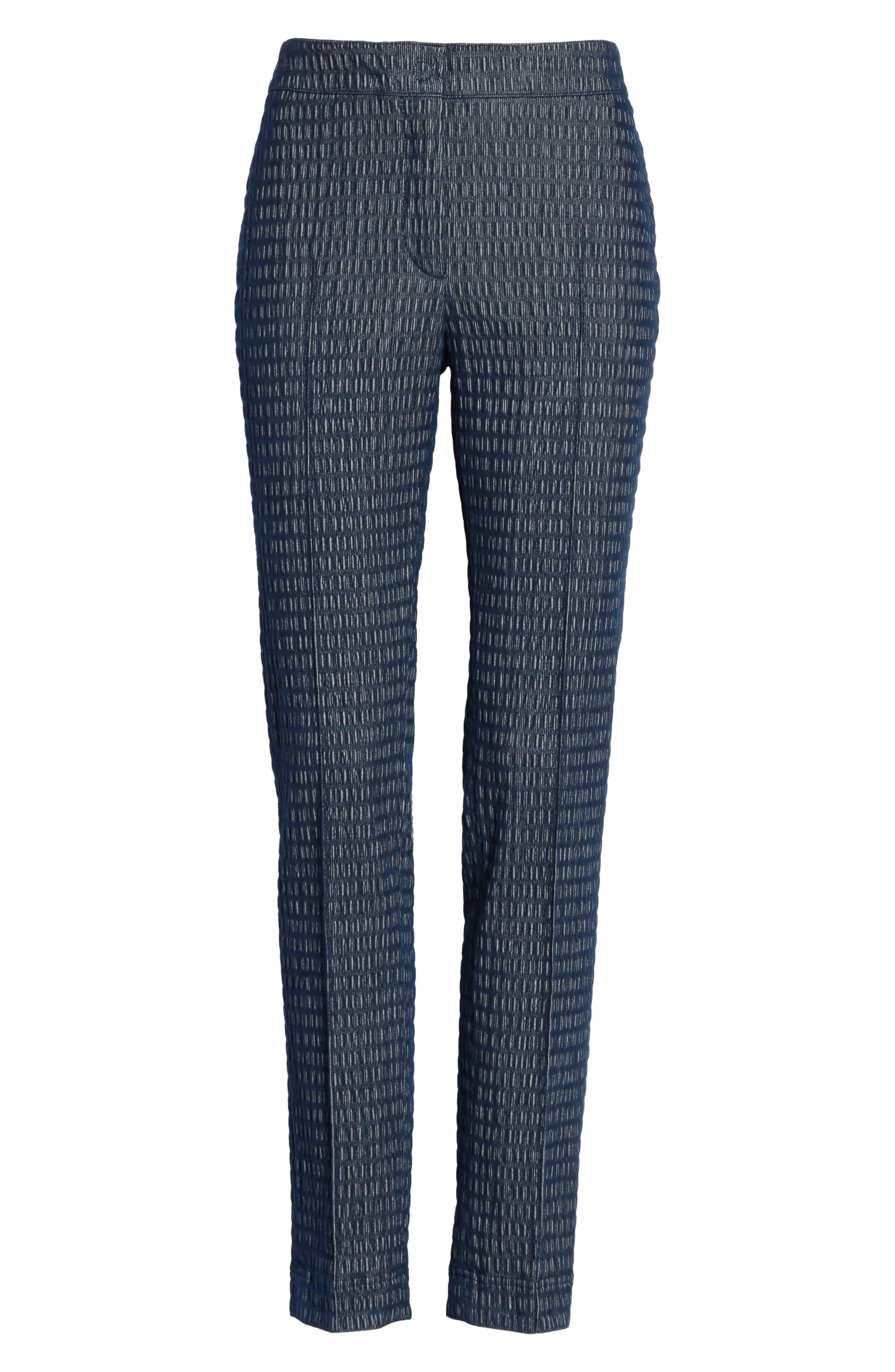 Mara Cloquer Jersey Pants,                             Alternate thumbnail 6, color,                             400