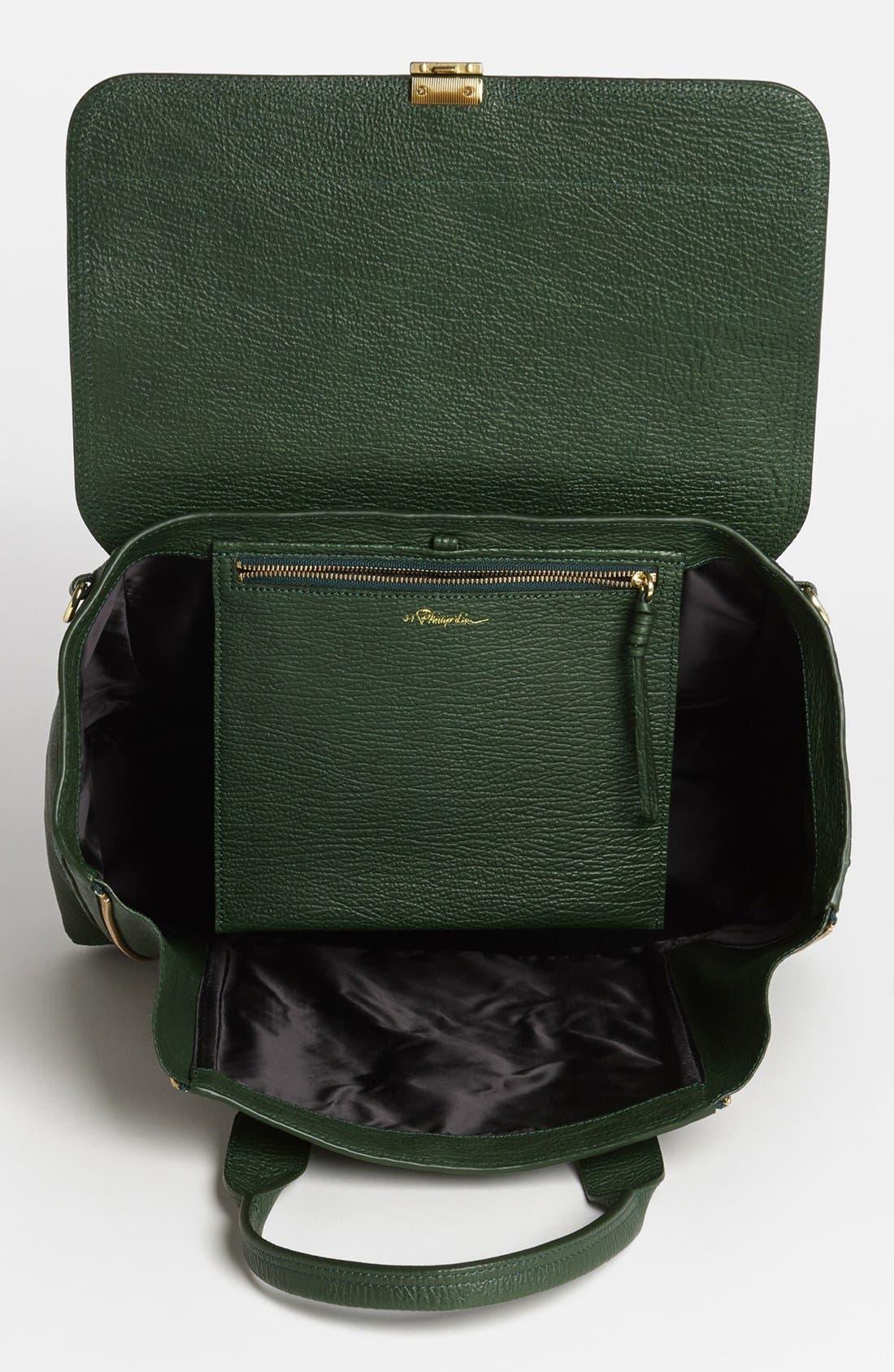 'Large Pashli' Leather Satchel,                             Alternate thumbnail 15, color,
