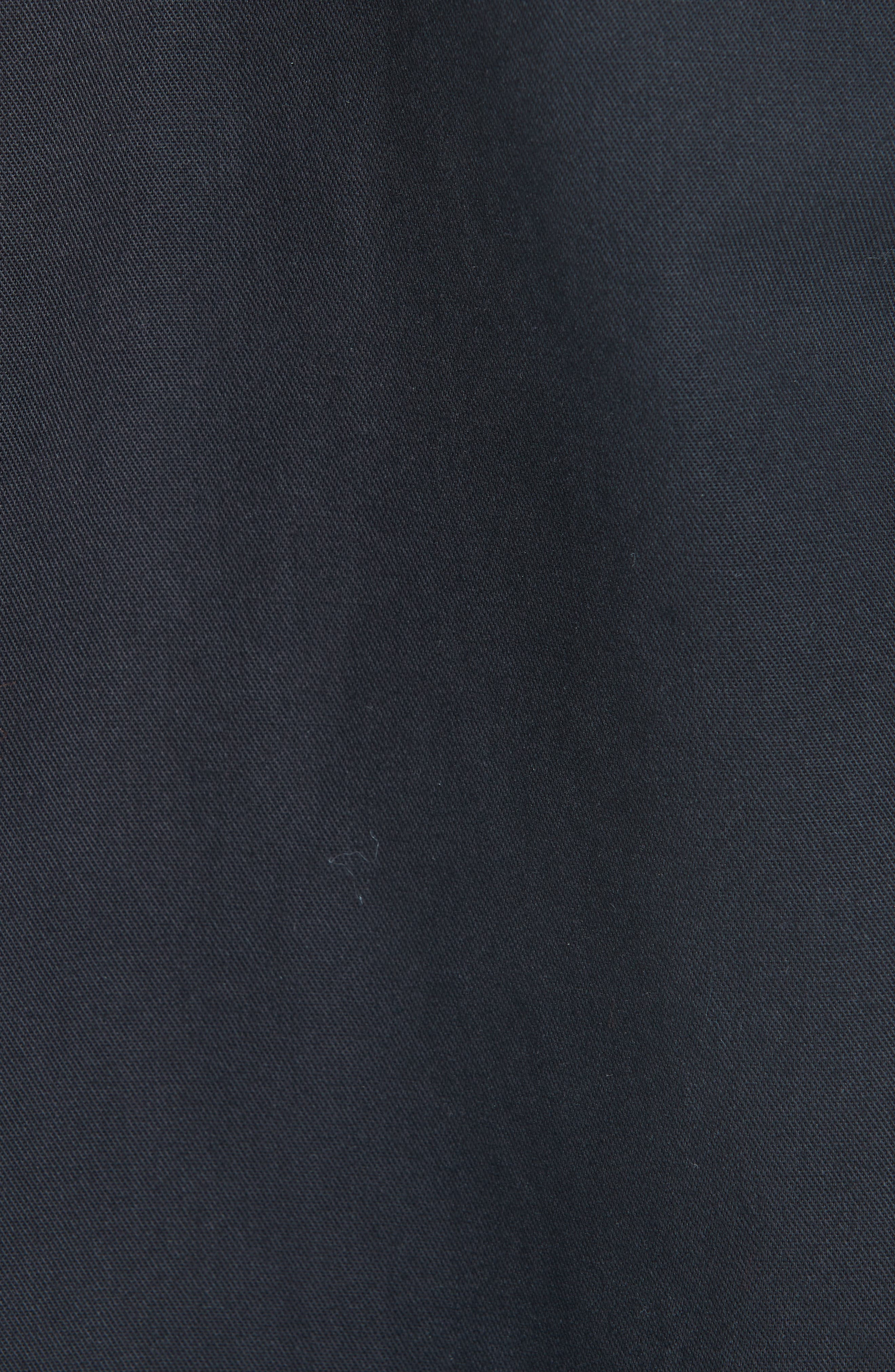 Fireman Coat,                             Alternate thumbnail 7, color,                             BLACK