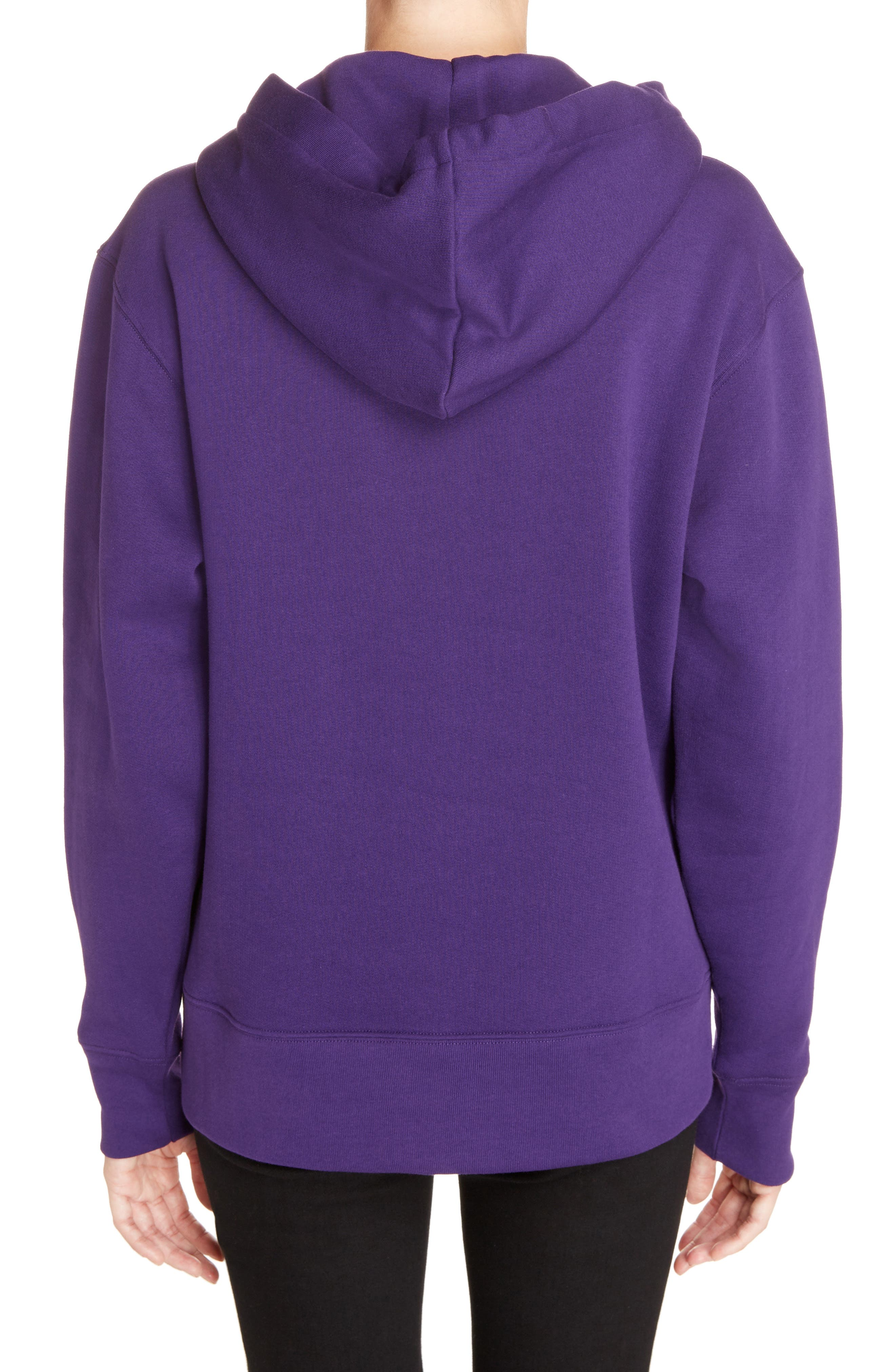 Ferris Face Hoodie,                             Alternate thumbnail 2, color,                             PURPLE