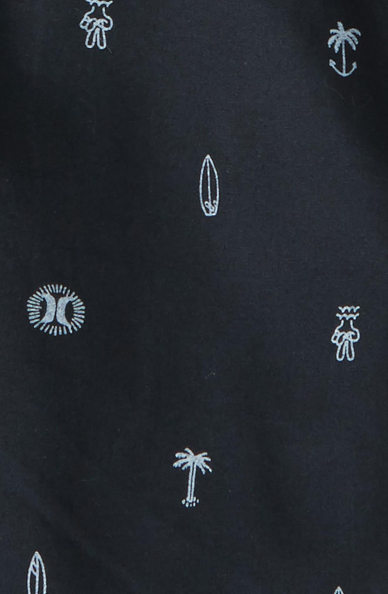 Print Pull-On Shorts,                             Alternate thumbnail 2, color,                             001