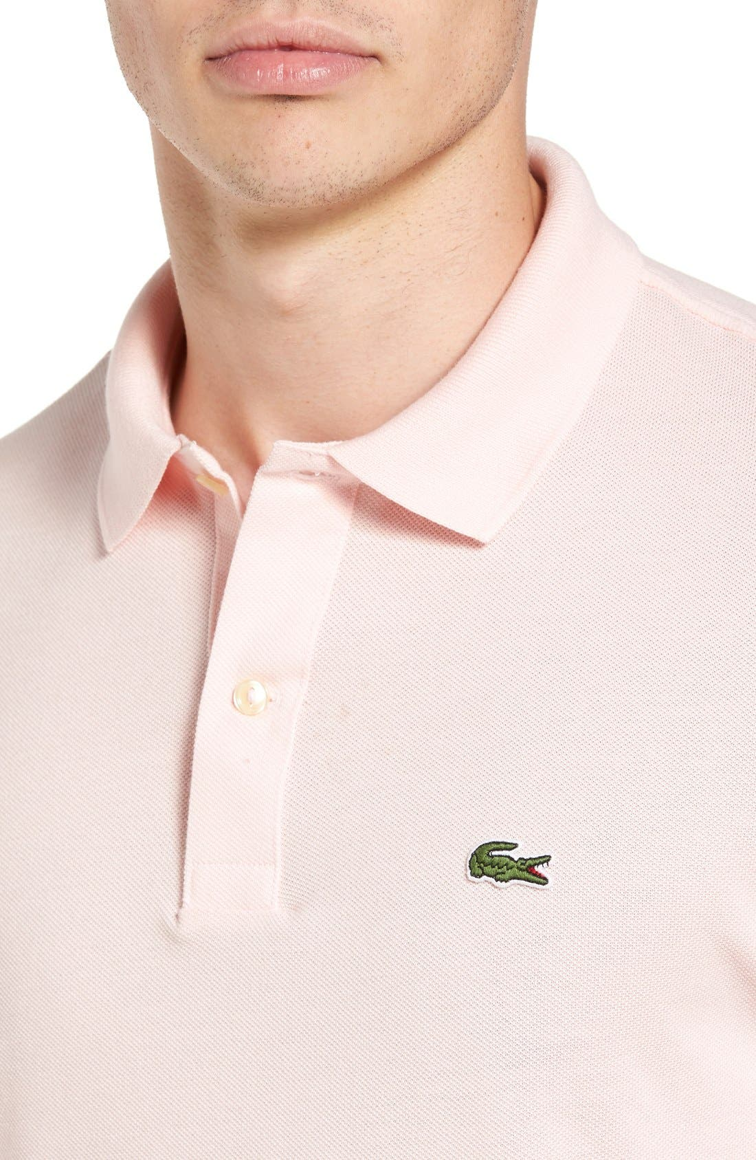Slim Fit Piqué Polo,                             Alternate thumbnail 47, color,