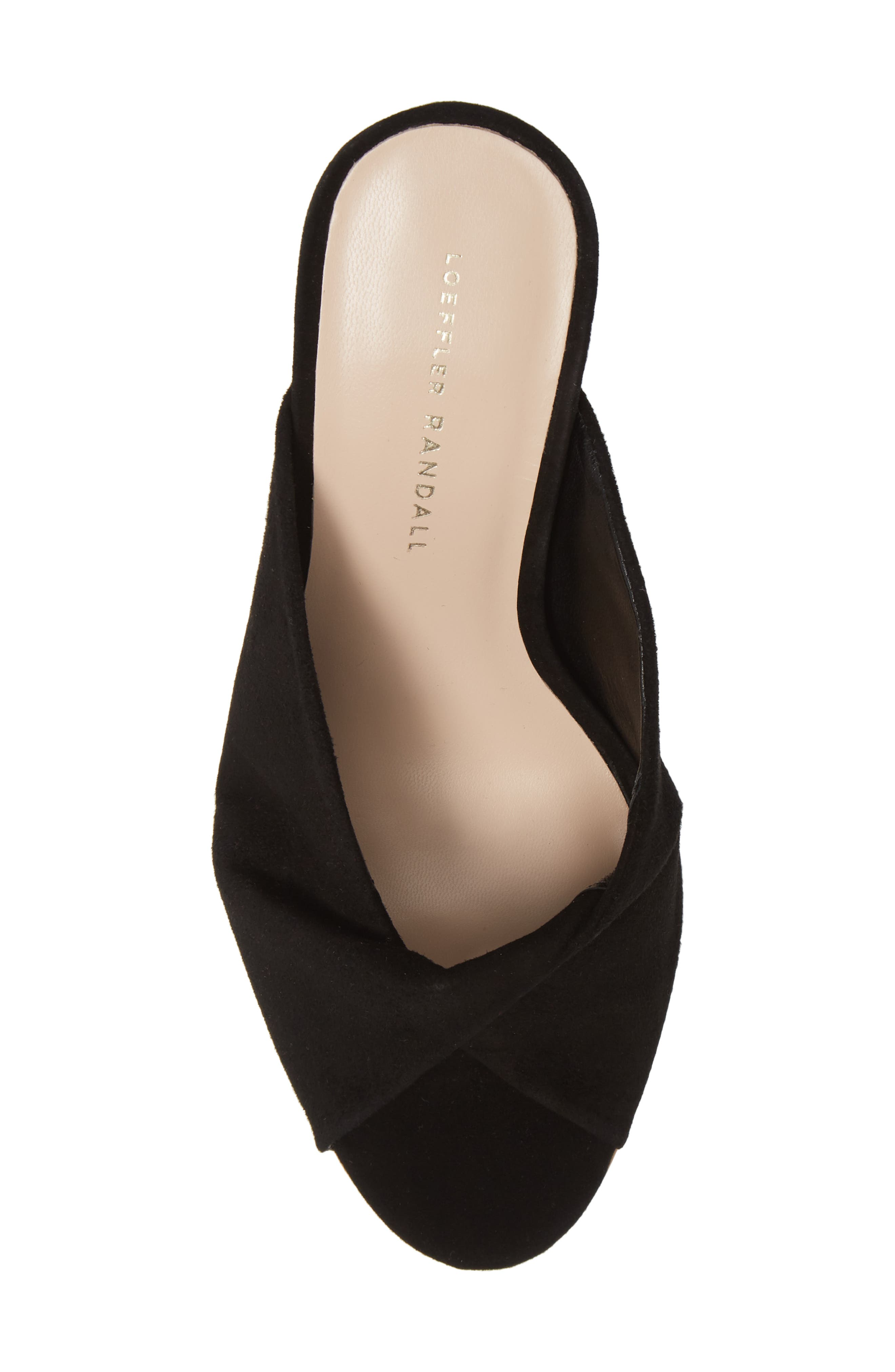 Laurel Slide Sandal,                             Alternate thumbnail 5, color,                             BLACK