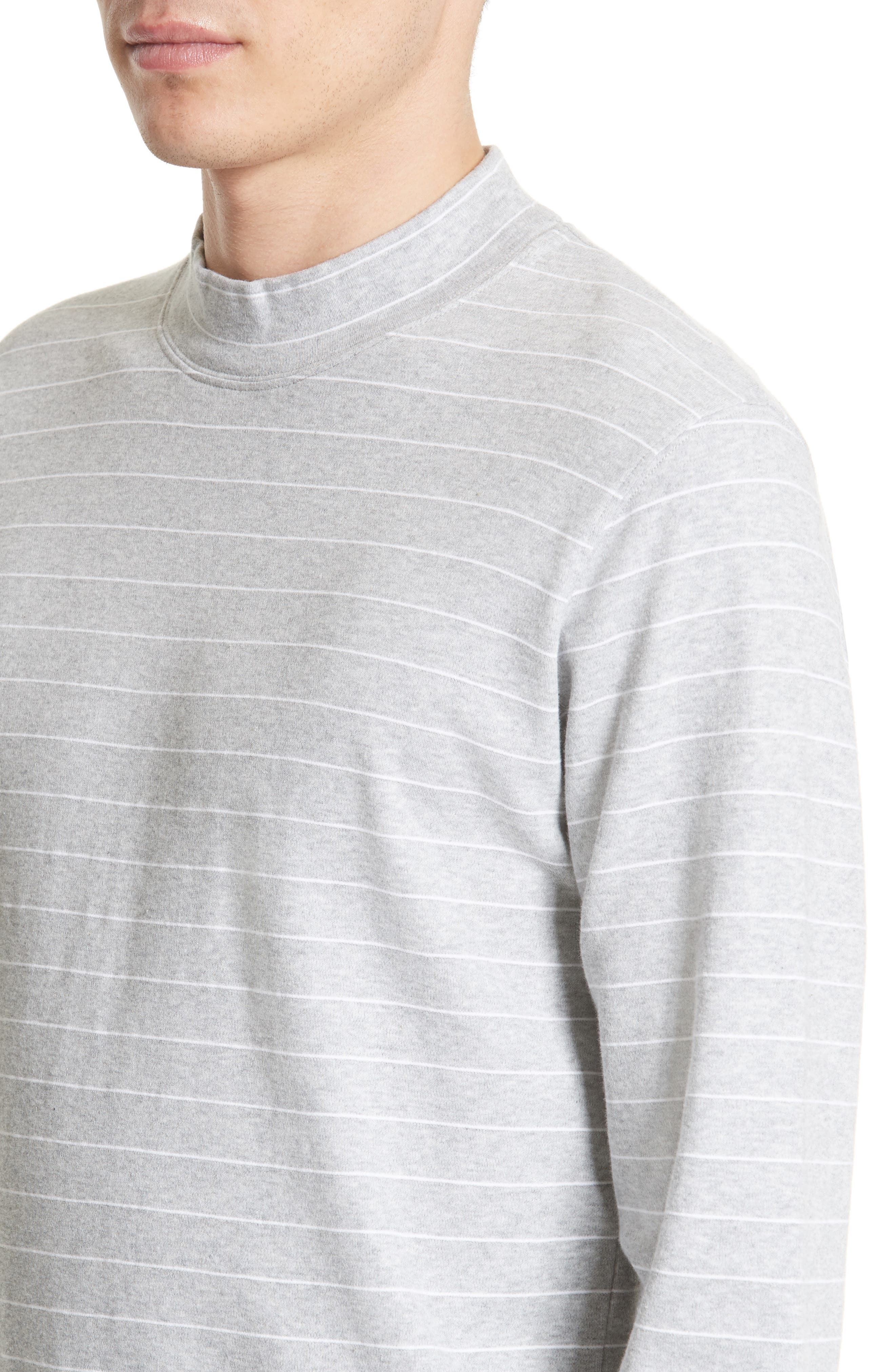 NORSE PROJECTS,                             Harald Mock Neck T-Shirt,                             Alternate thumbnail 4, color,                             050