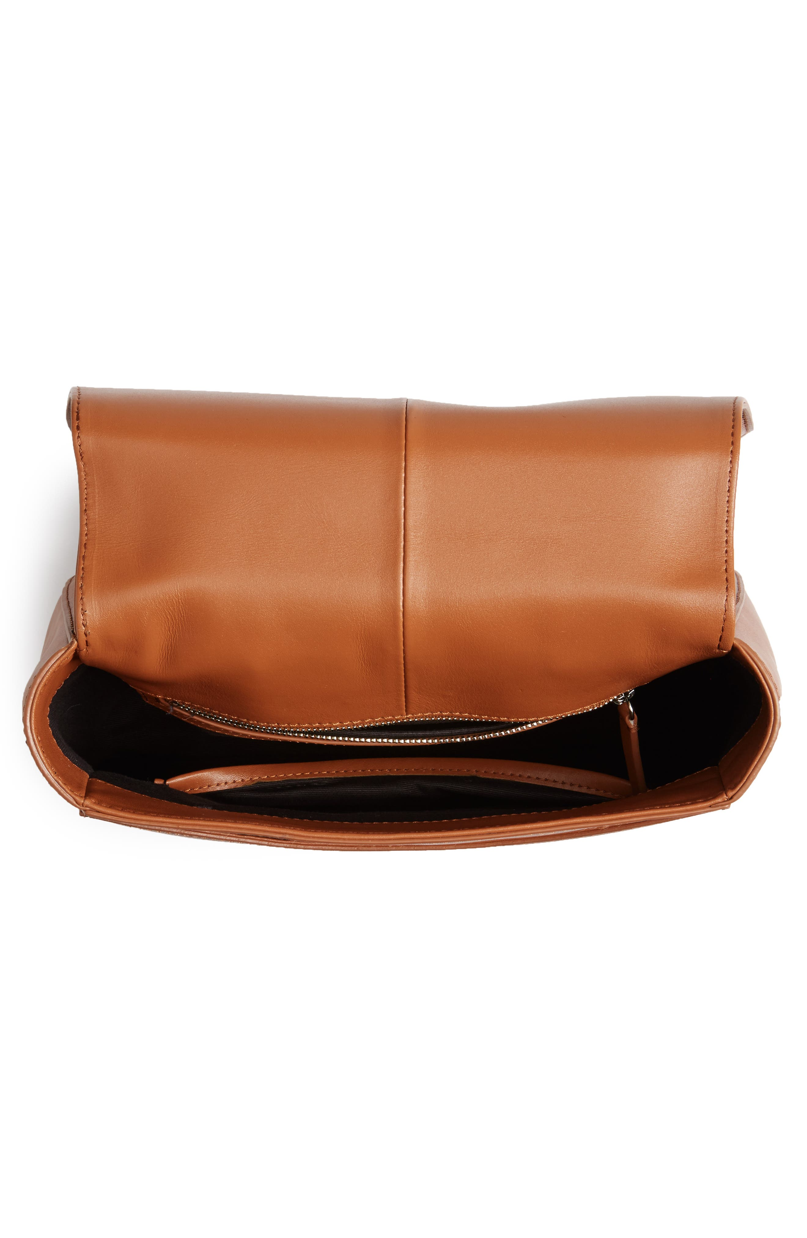 Kate Calfskin Leather Backpack,                             Alternate thumbnail 4, color,                             200