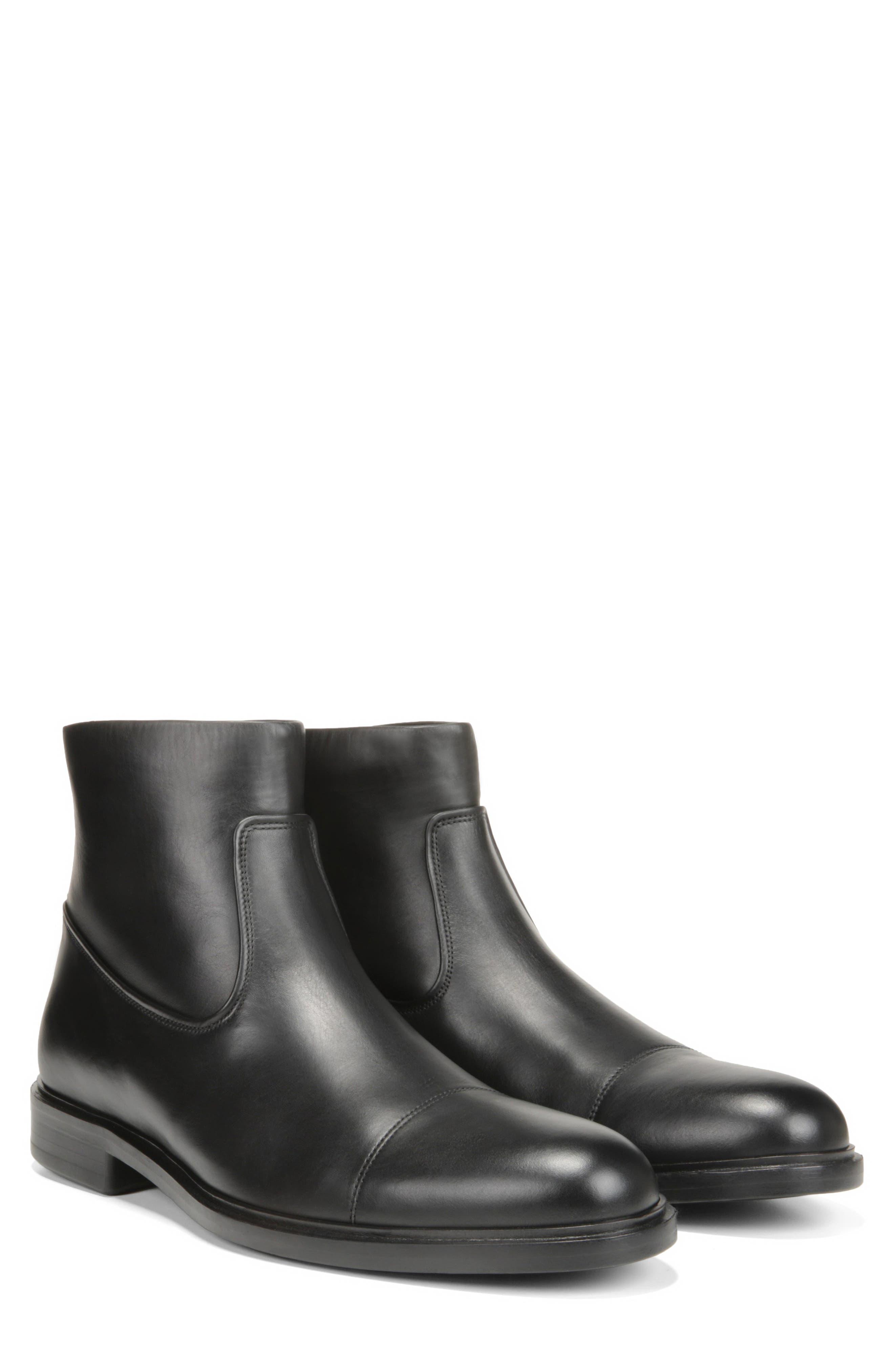 Beckett Zip Boot,                             Alternate thumbnail 8, color,                             BLACK