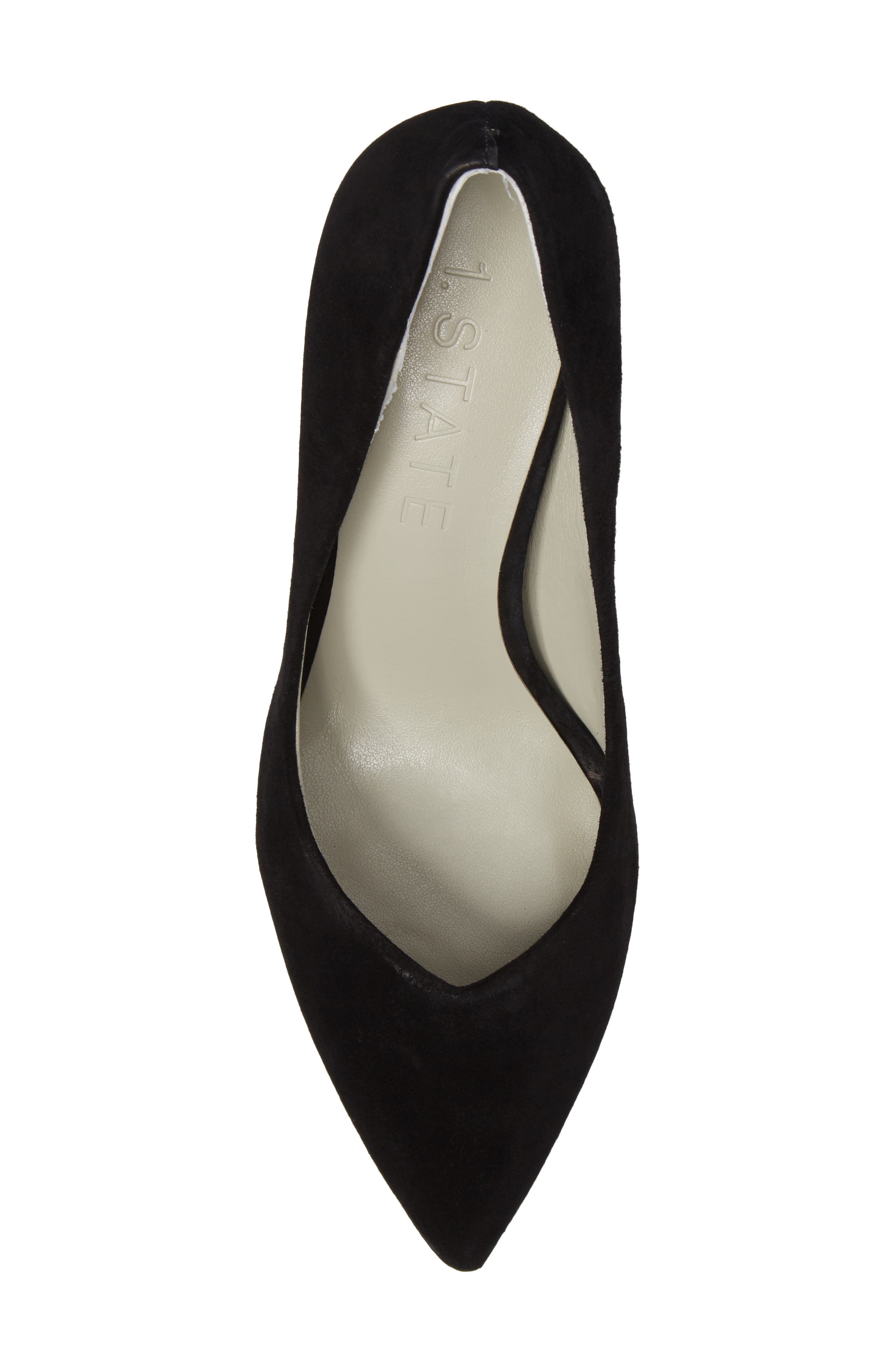 Saffy Block Heel Pump,                             Alternate thumbnail 5, color,                             001