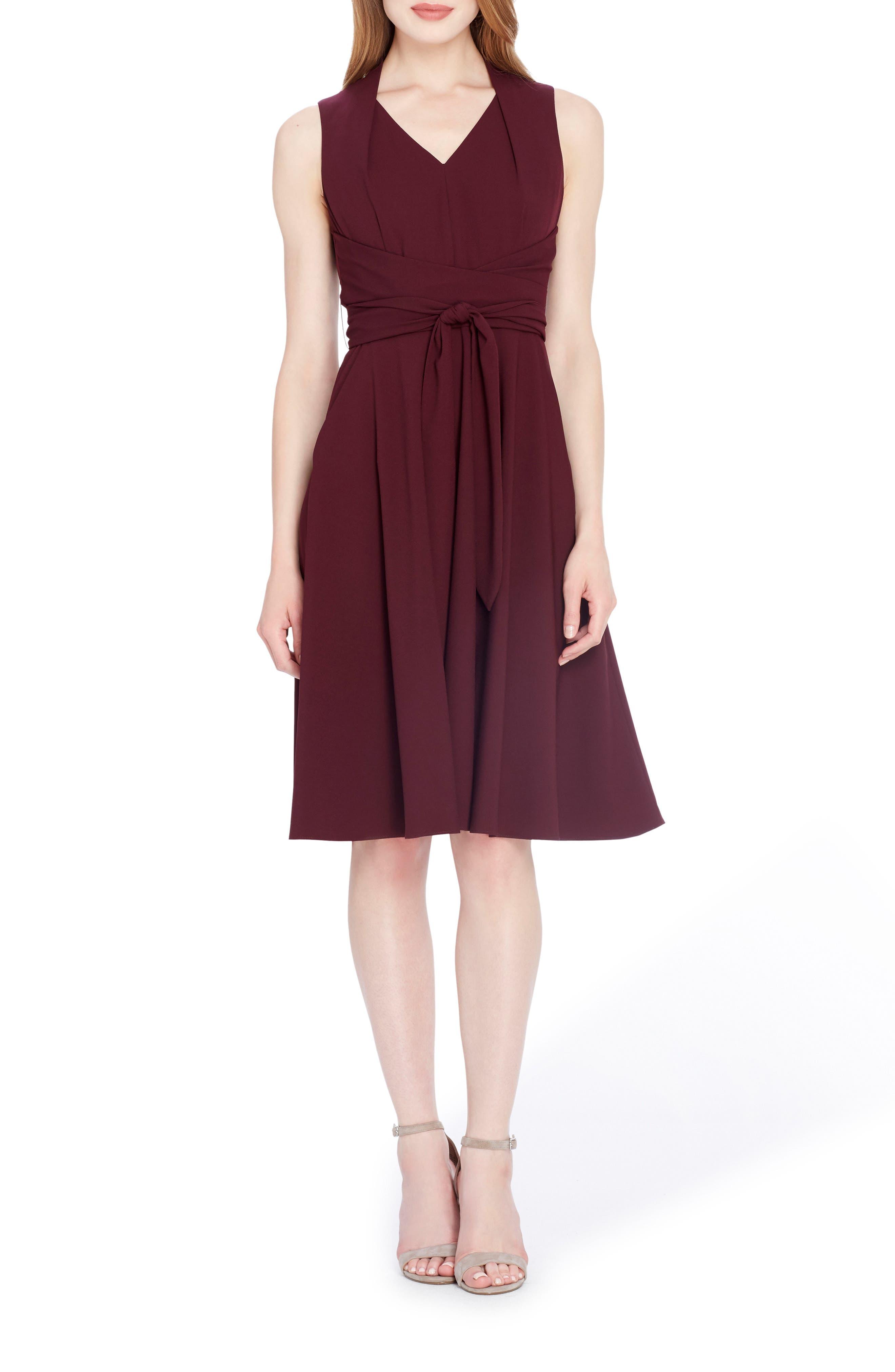 Fit & Flare Dress,                             Main thumbnail 1, color,                             541