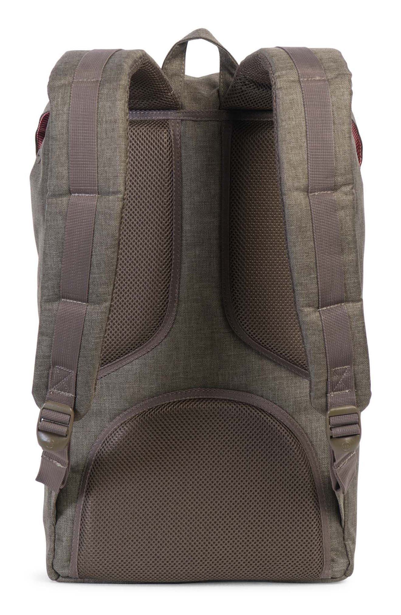Little America Crosshatch Backpack,                             Alternate thumbnail 4, color,                             218