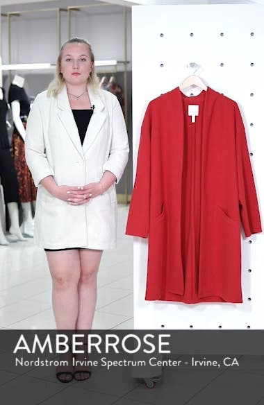 Open Front Midi Coat, sales video thumbnail